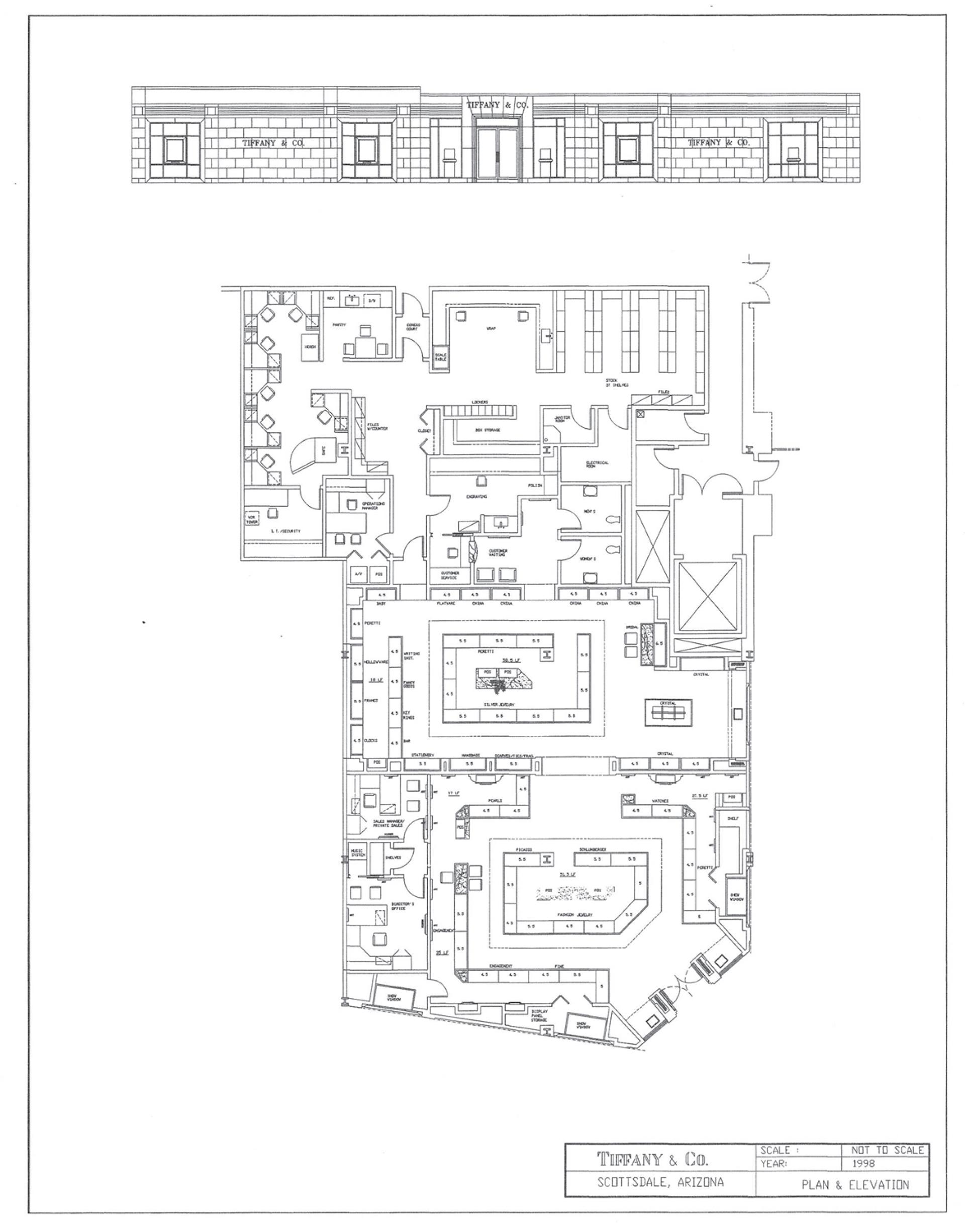 Tiffany Company Store Design On Behance