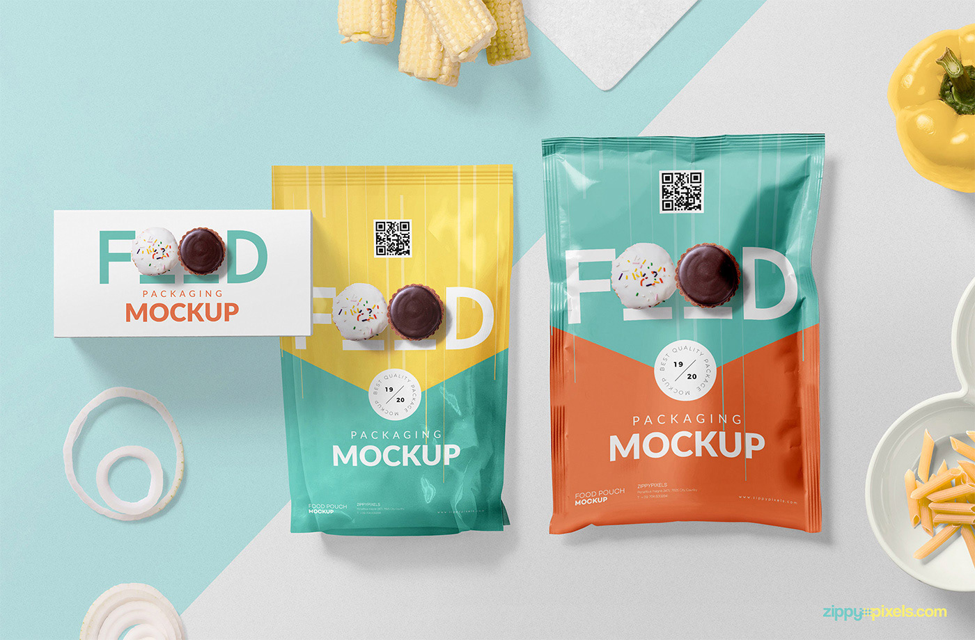 free food packaging mockup psd on behance