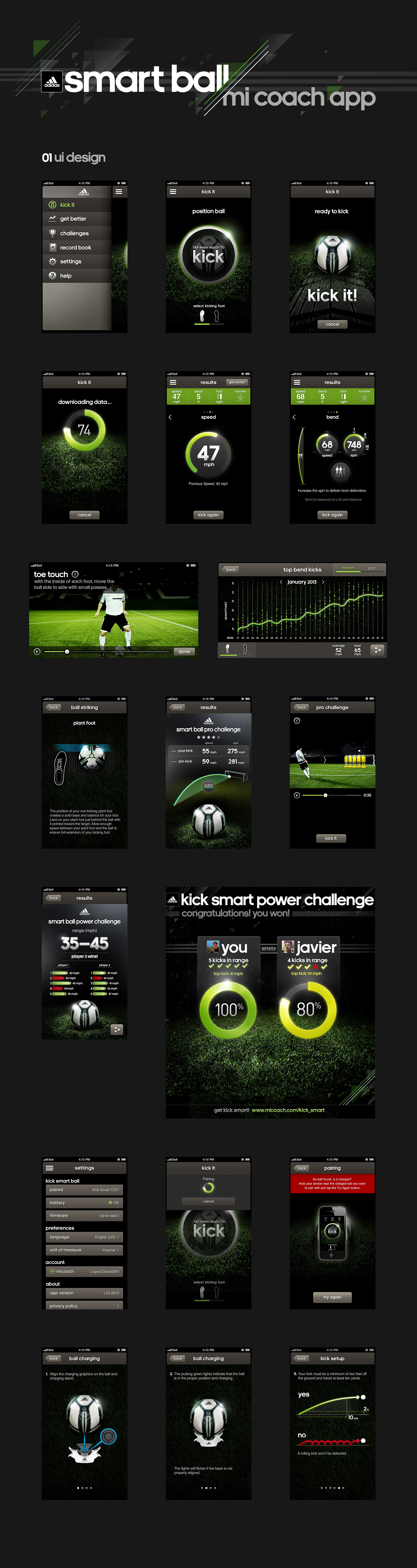 adidas micoach smart ball android