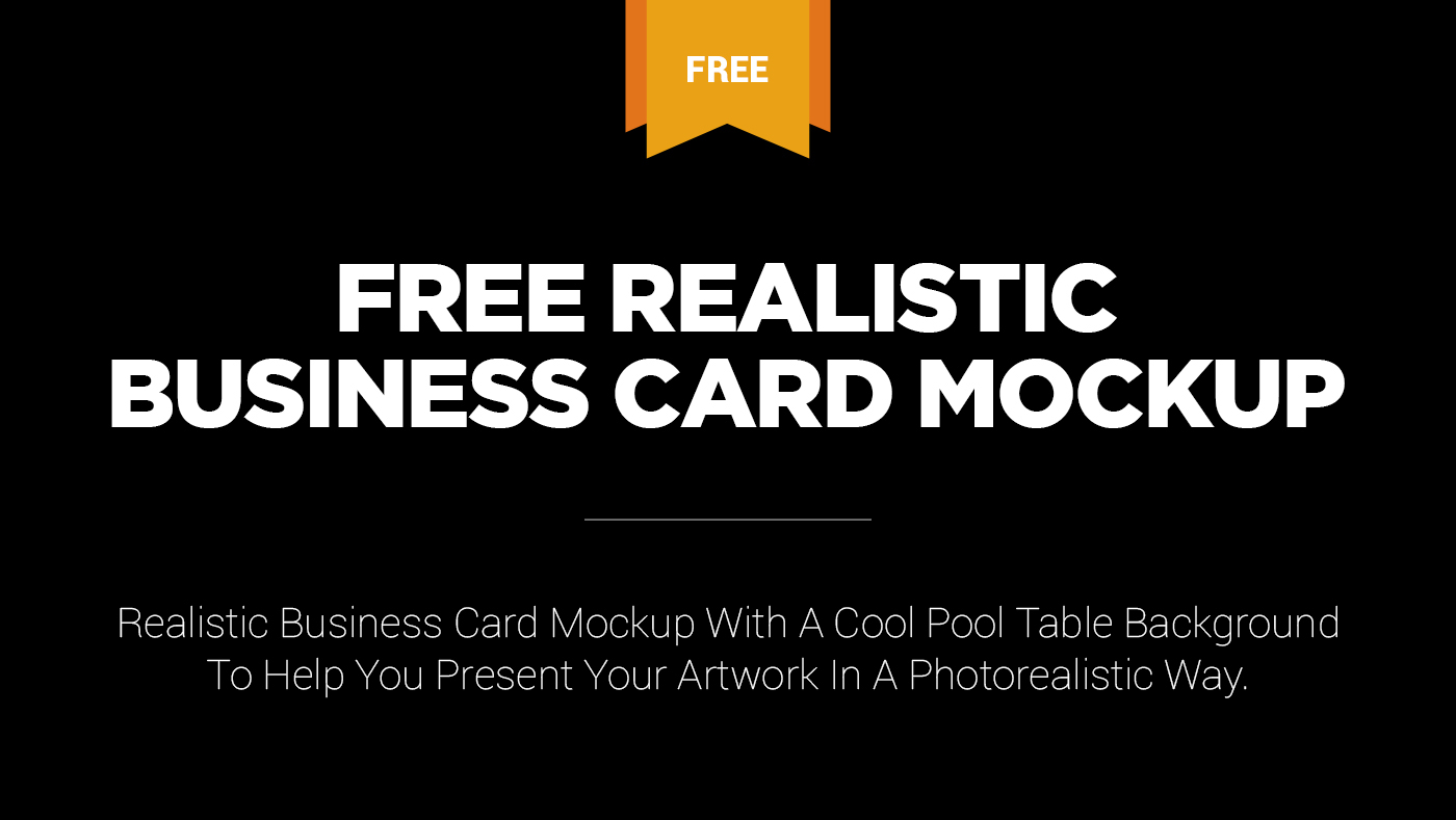 Free realistic business card mockup on behance please click here to download this free realistic business card mockup reheart Images