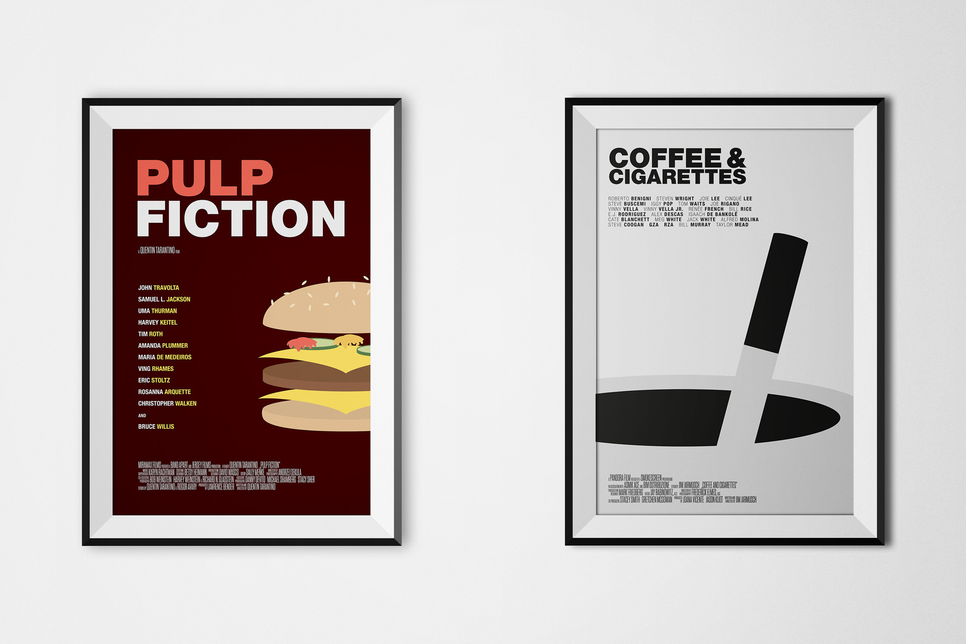Pulp Fiction / Coffee & Cigarettes