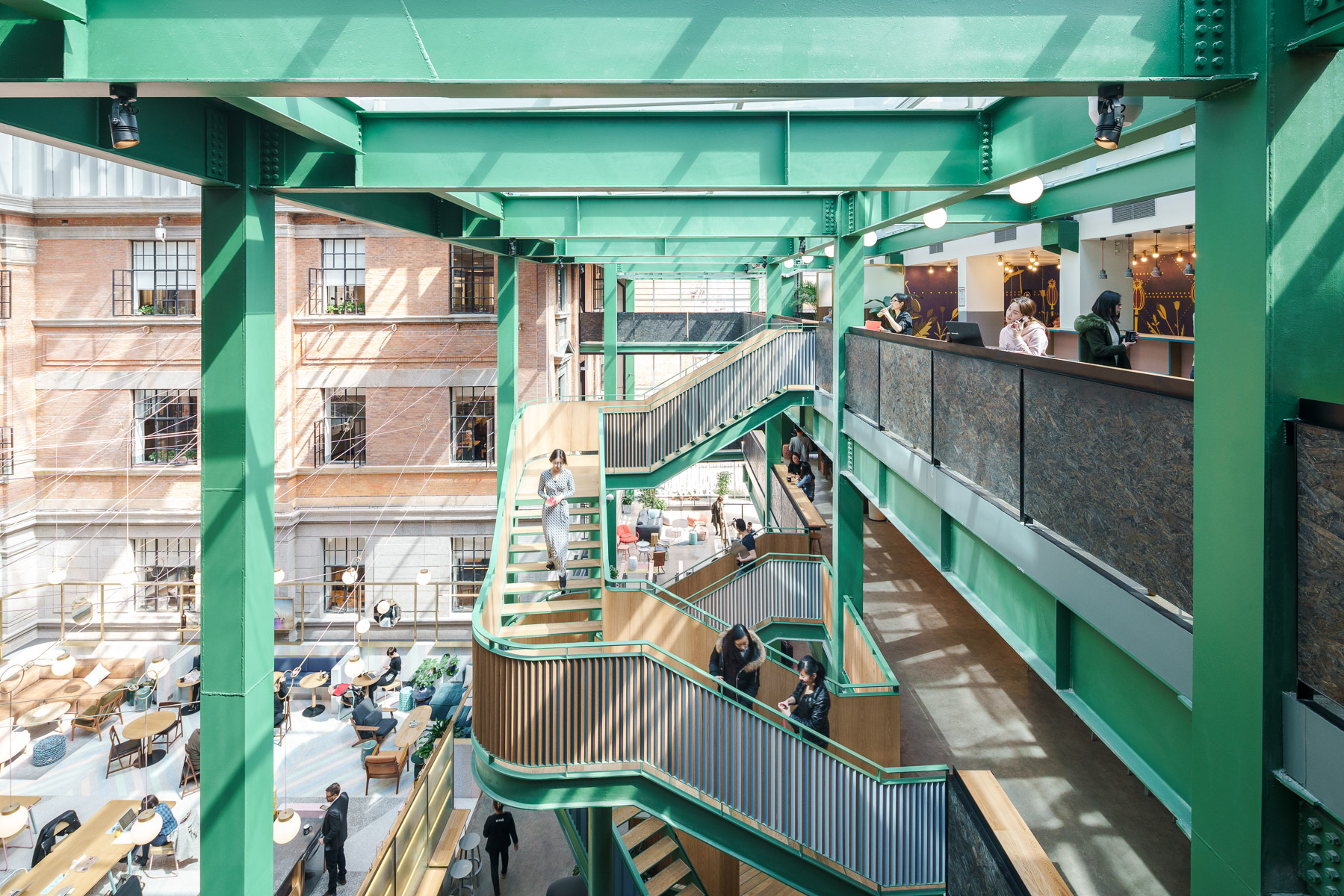 Architecture & Photography: WeWork Weihai Road, Shanghai