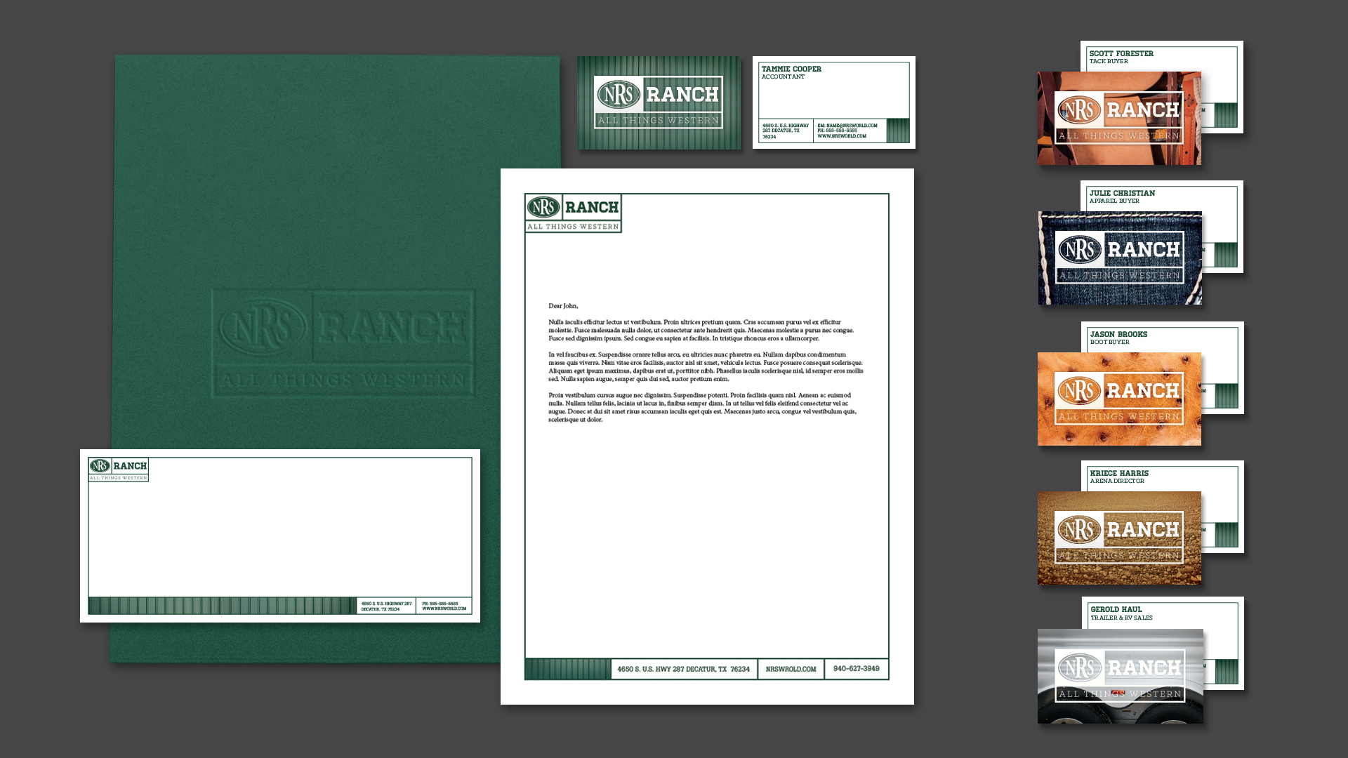 NRS RANCH Early Branding Concept on Behance