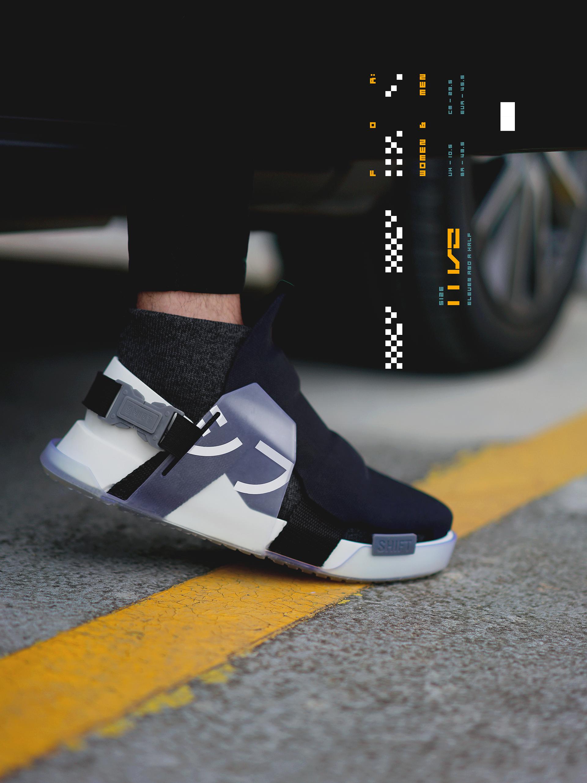 Sneaker Design: SHIFT F1