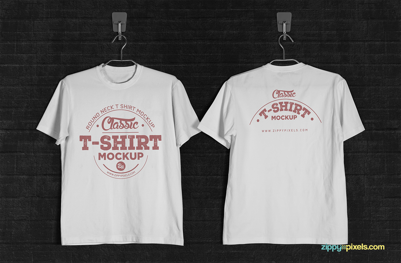 T shirt white mockup - Click Here To Download This Cool Free T Shirt Mockup Psd