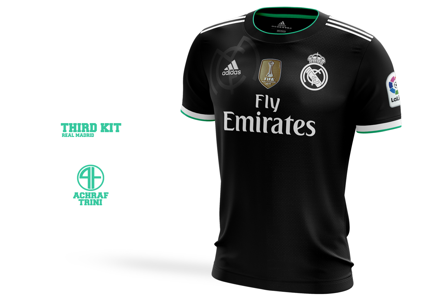 buy online 1d331 c1056 Real madrid | Adidas Concept shirts 2018-19 on Behance