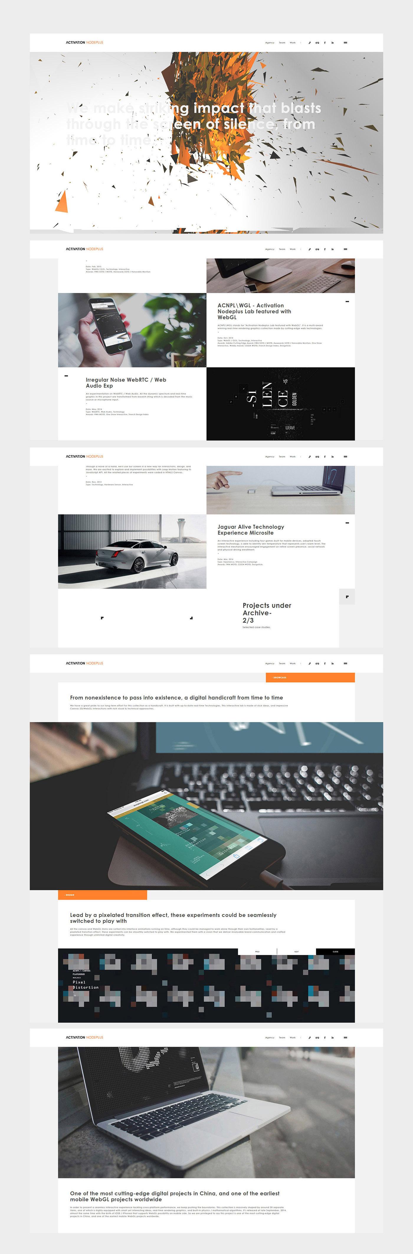Activation Nodeplus Website V2 0 on Behance