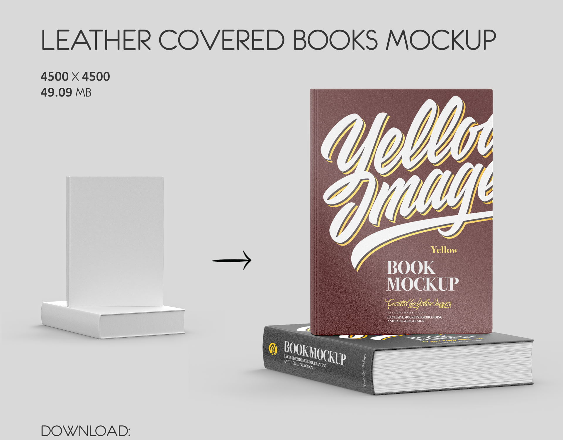 Download Book Mockups On Behance Yellowimages Mockups