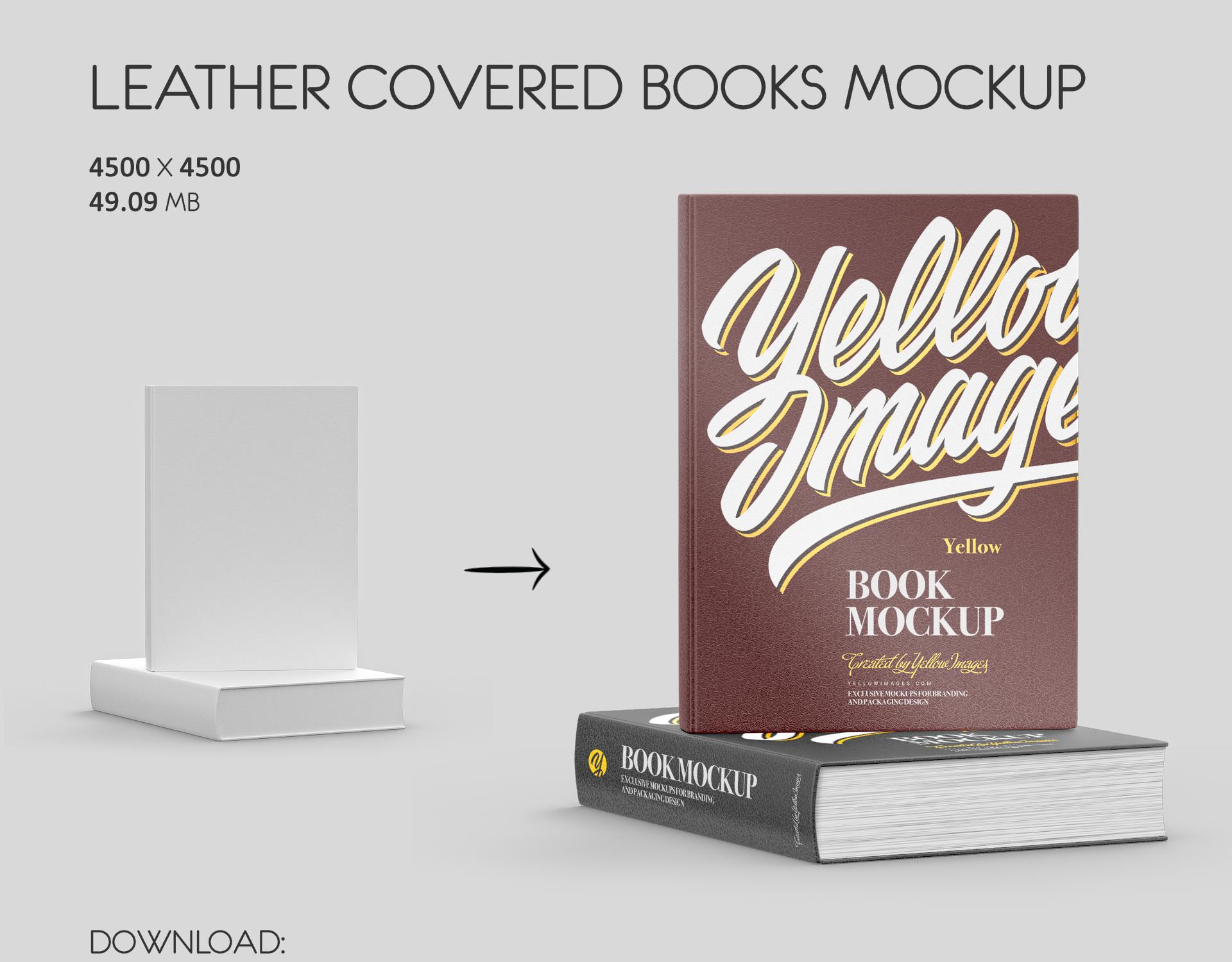 Download Book Mockups On Behance PSD Mockup Templates
