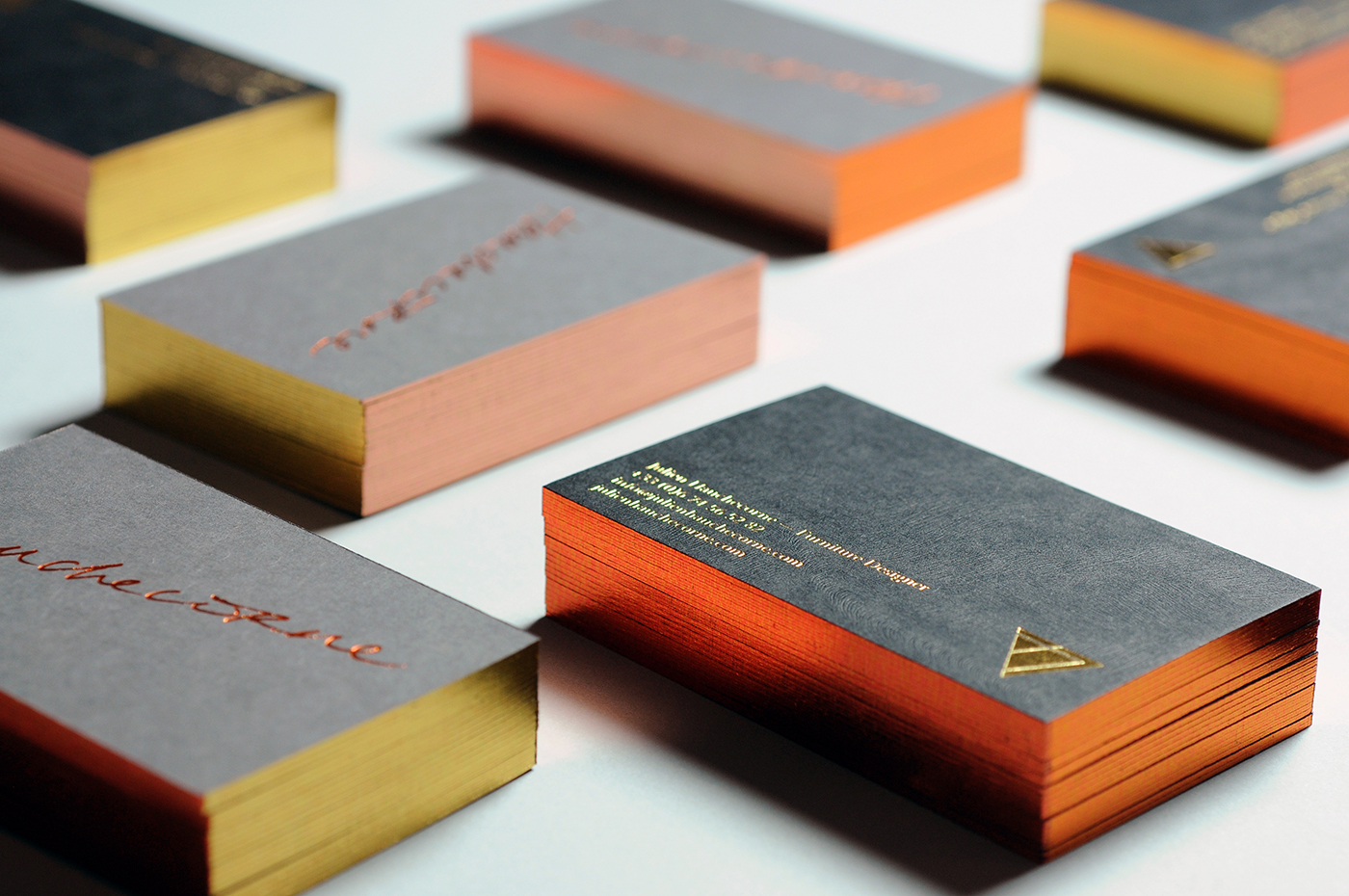 J.H. | Visual identity & business cards on Behance