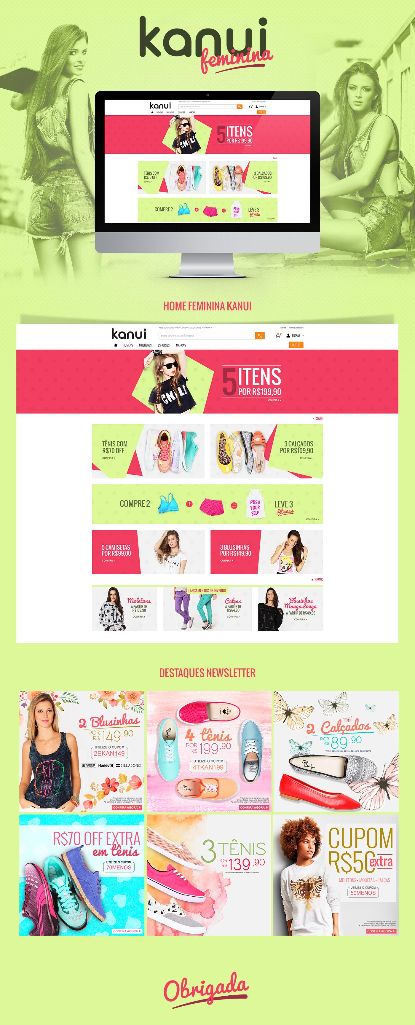 b4d89a0740 Kanui Girls on Behance