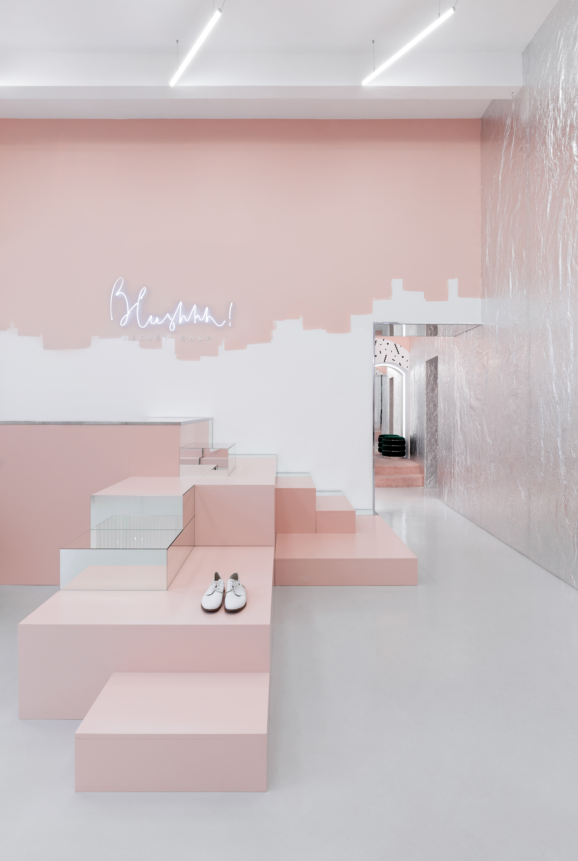 Architecture & Interior Design: Blushhh! Secret Shop