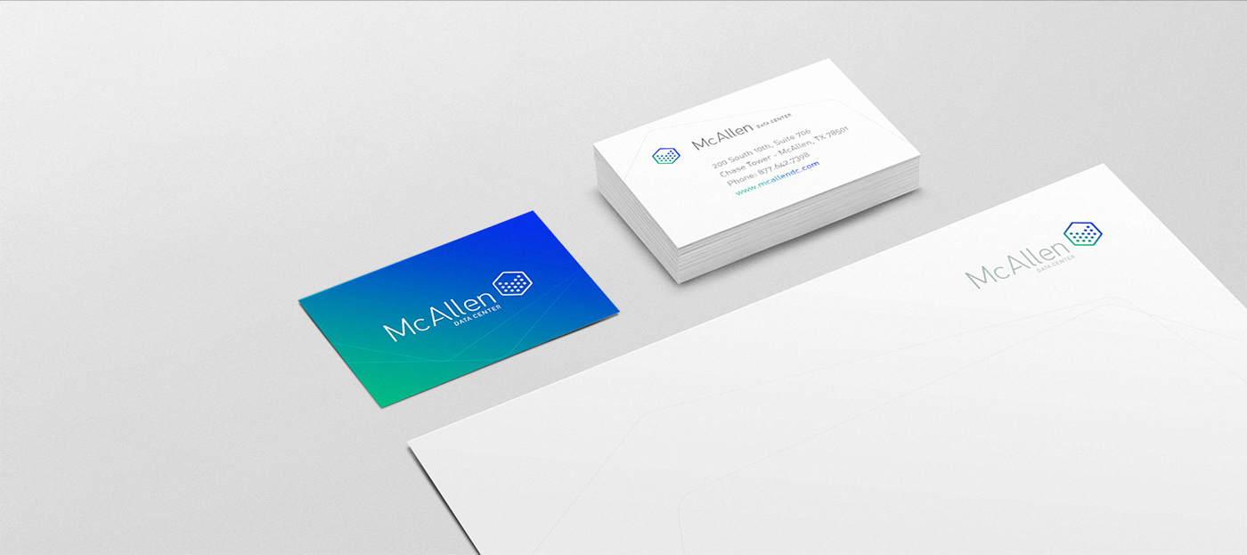 Mcallen data center branding on behance colourmoves