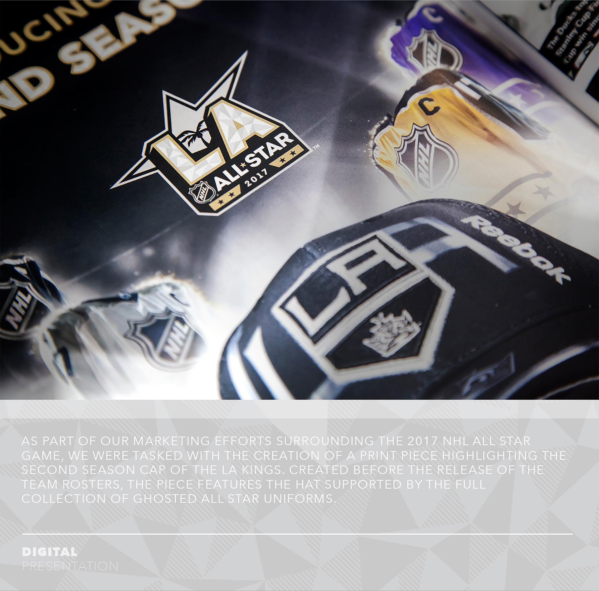 0bd38862e 2017 Second Season Cap / Reebok x NHL All Star Game on Behance