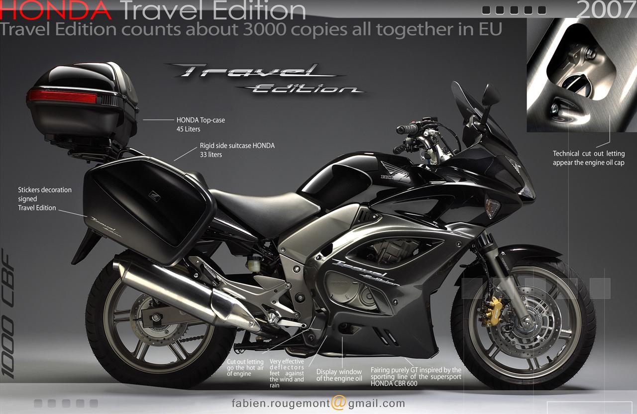 1000 cbf travel edition: quelle sont les options? Honda cbf.