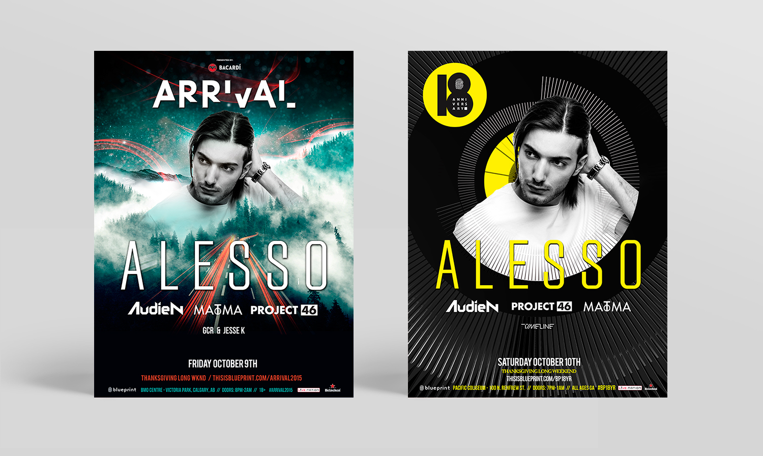 Blueprint events arena posters on behance malvernweather Images
