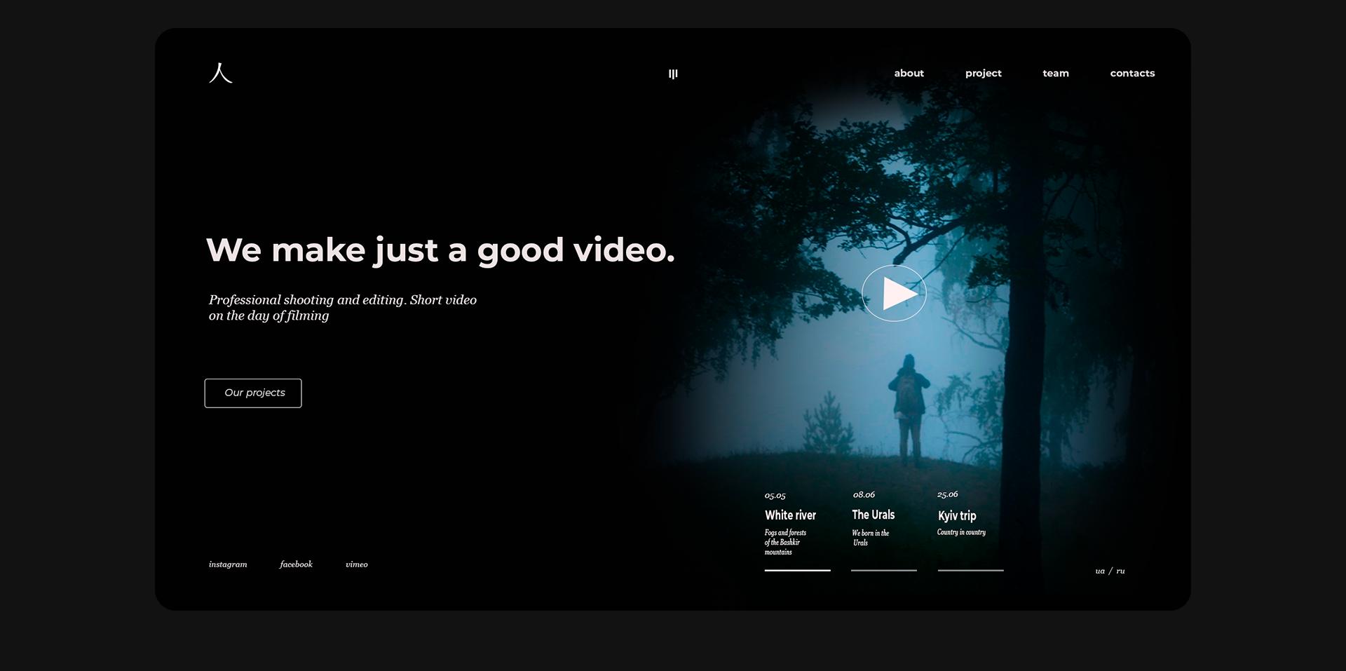 Video většinou řekne mnohem více, než statický obrázek.