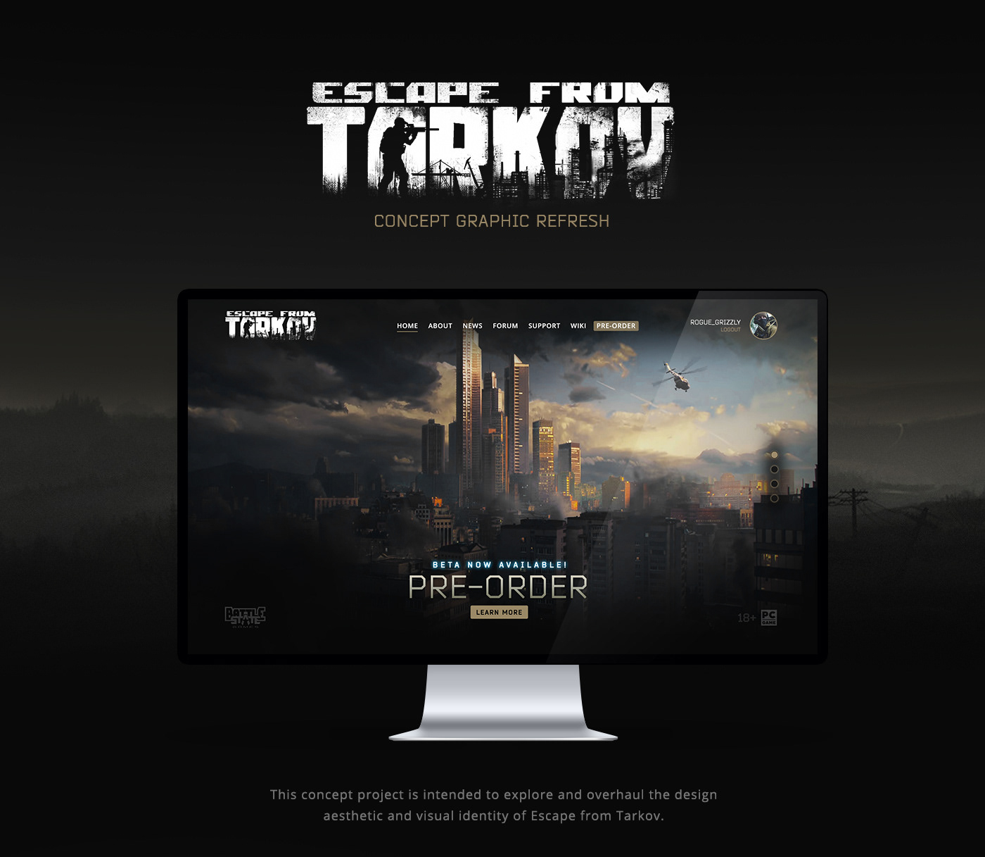 Escape from Tarkov Concept Graphic Refresh on Behance