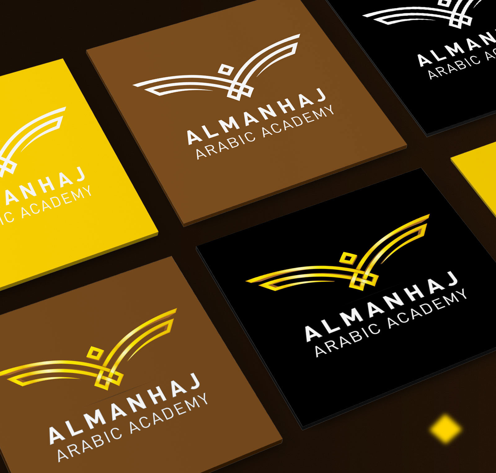 Elmanhaj Academy Branding On Behance