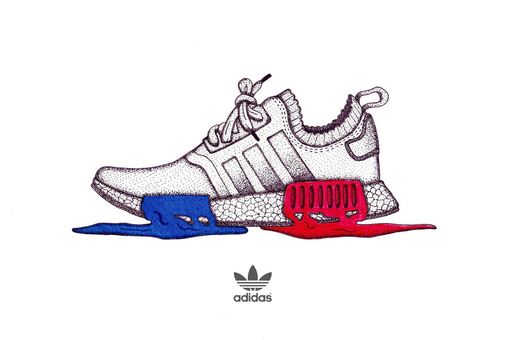 Adidas NMD on Behance