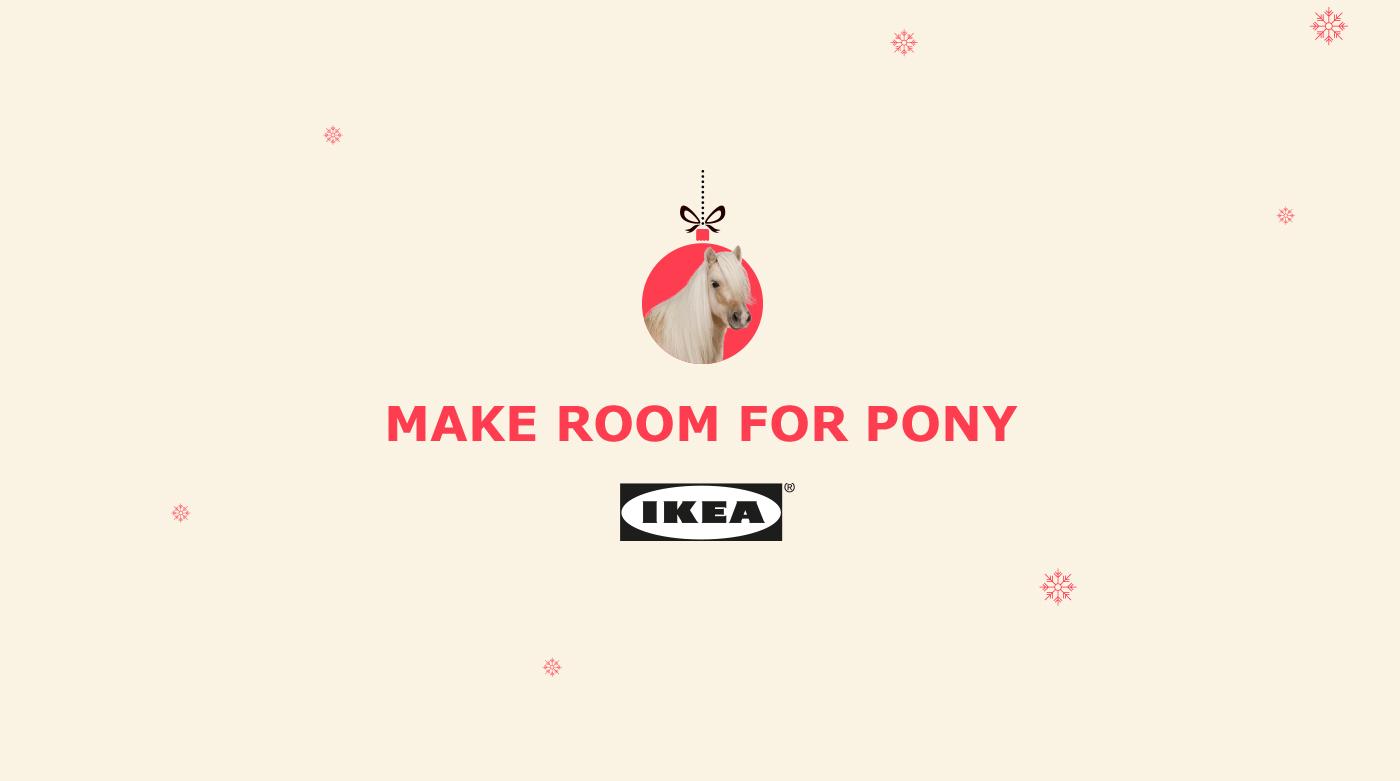IKEA - Make room for pony on Behance