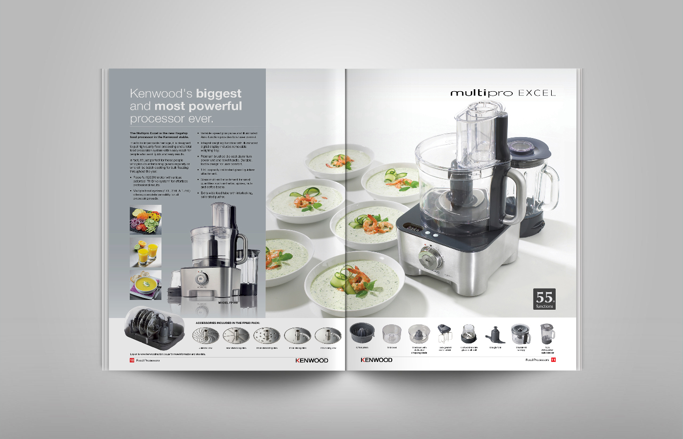 Kenwood Kitchen Appliances Brochure On Behance