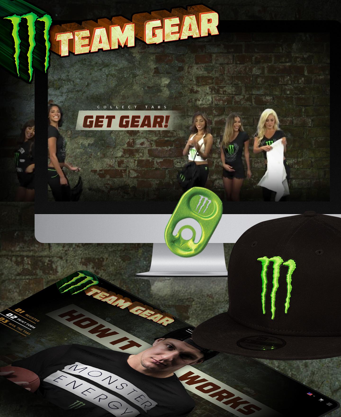 Monster Energy Team Gear on Behance