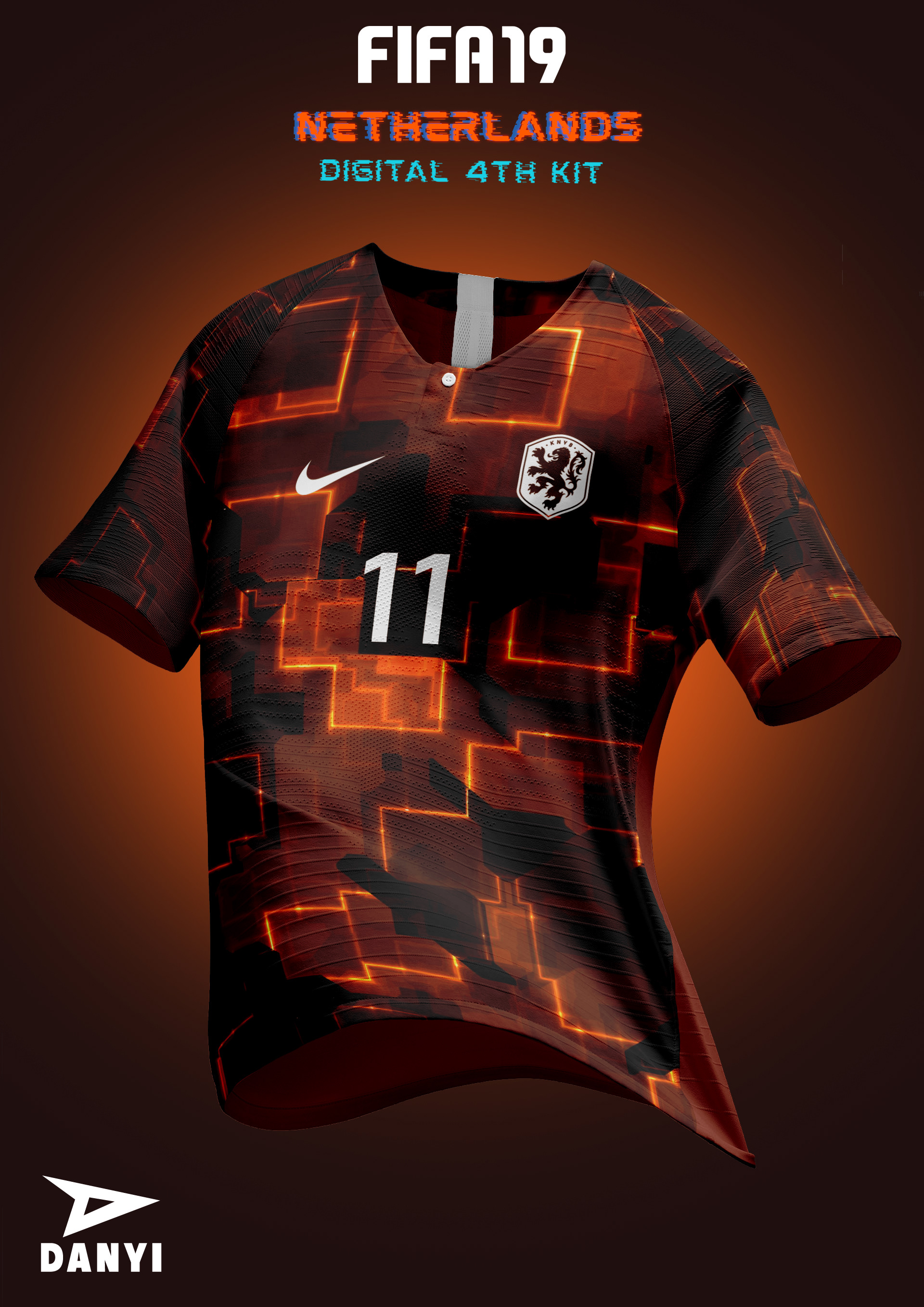 newest 8fc3a c5f03 FIFA 19 X NIKE football kits. on Behance