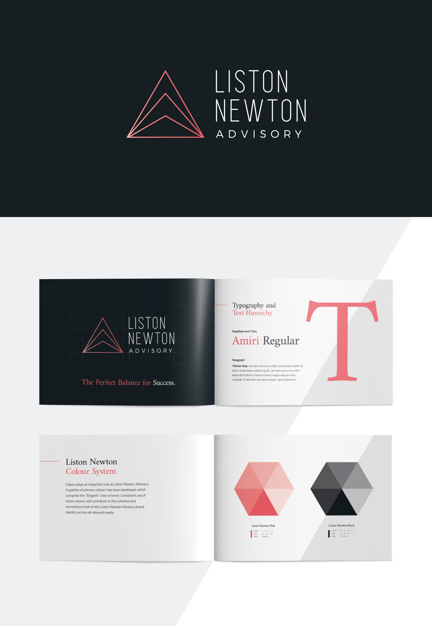 Liston Newton Advisory on Behance