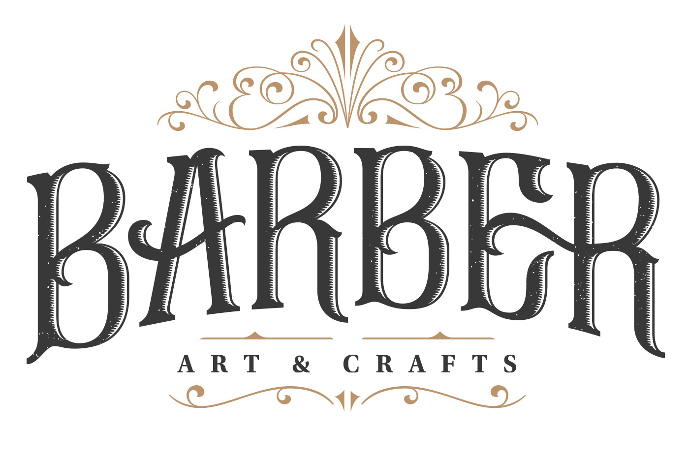 Visual Identity And Logo For Barber Art Crafts On Behance