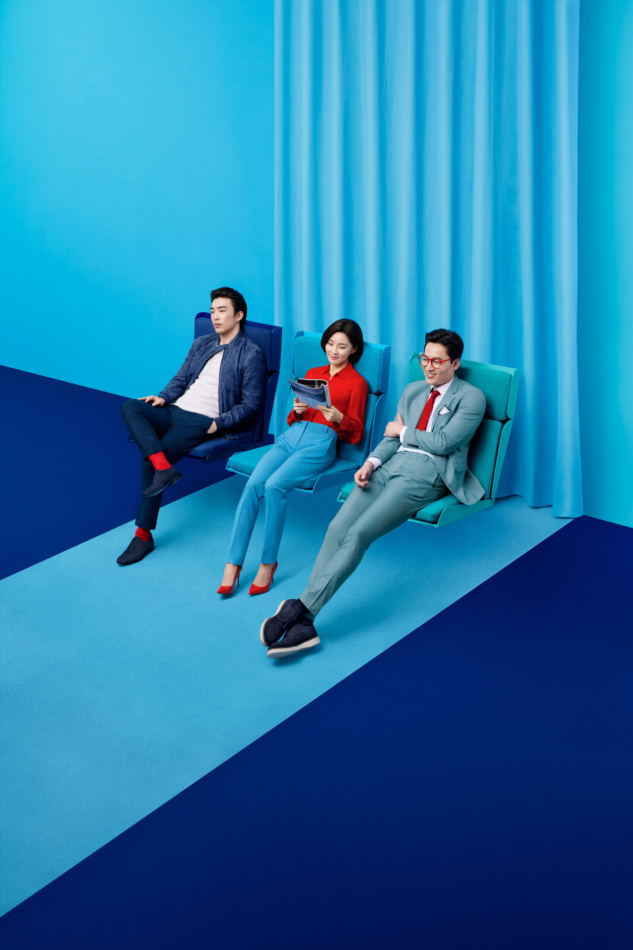Art Direction & Set Design for Korean Air Campaign: Go Korean