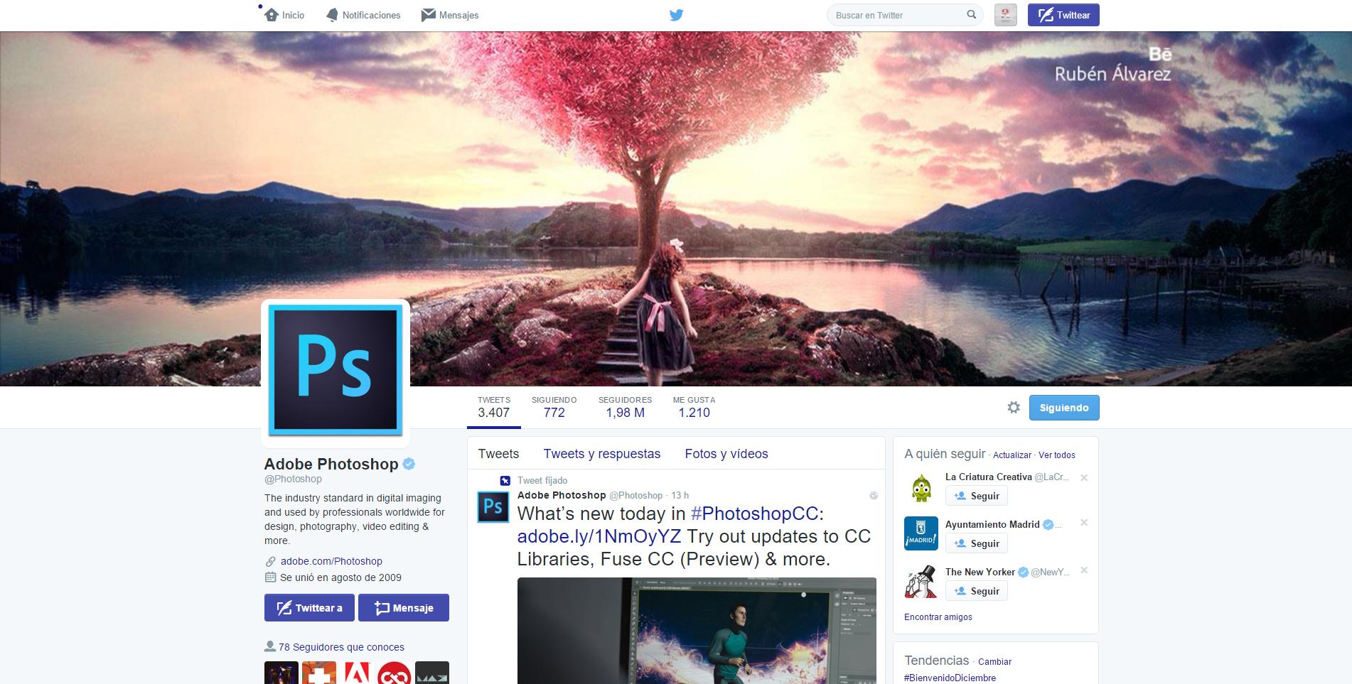 Adobe Photoshop CC 2015 Splash Screen Image on Behance