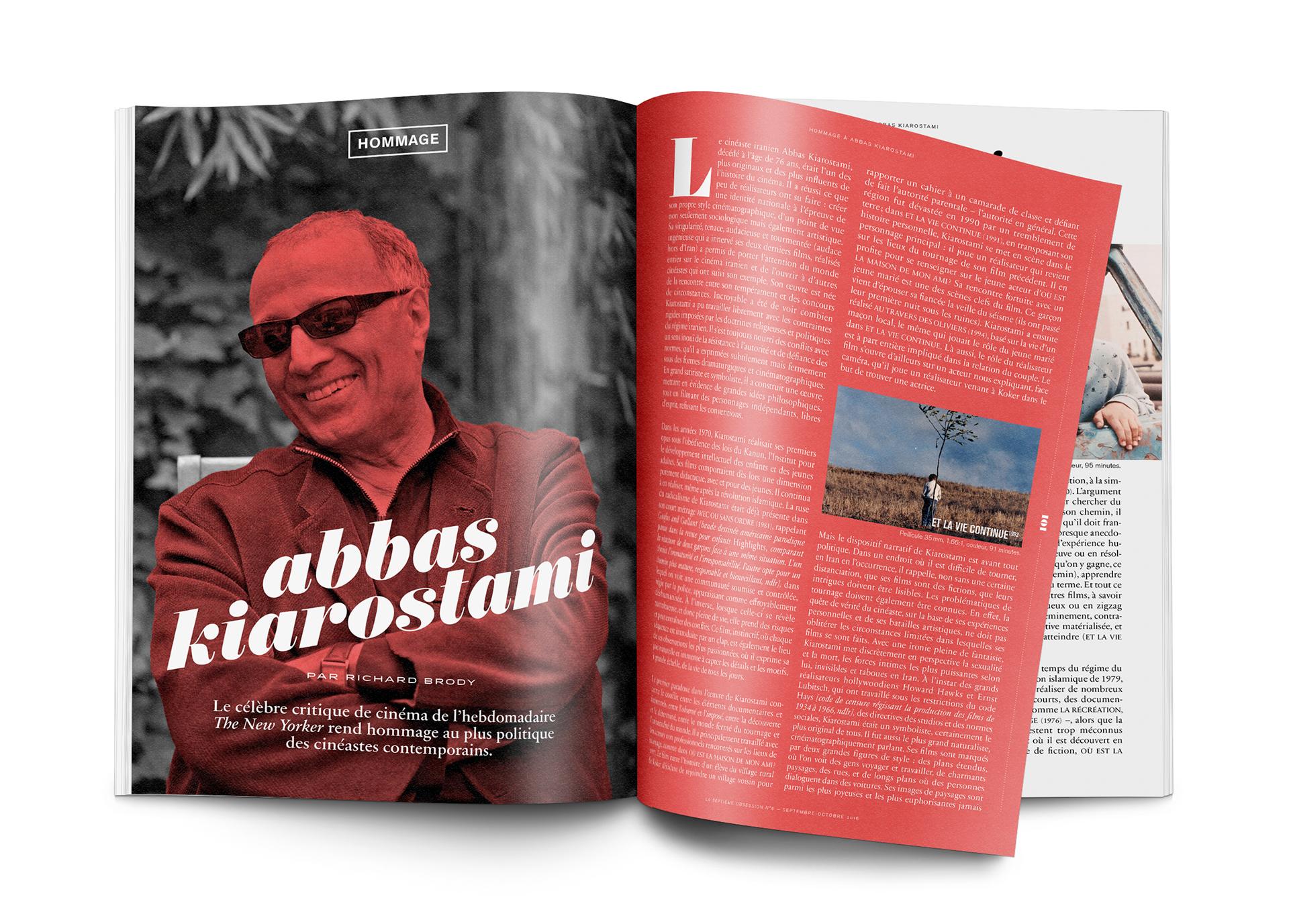 Magazine Apprendre La Photo la septième obsession n°6 (film magazine) on behance