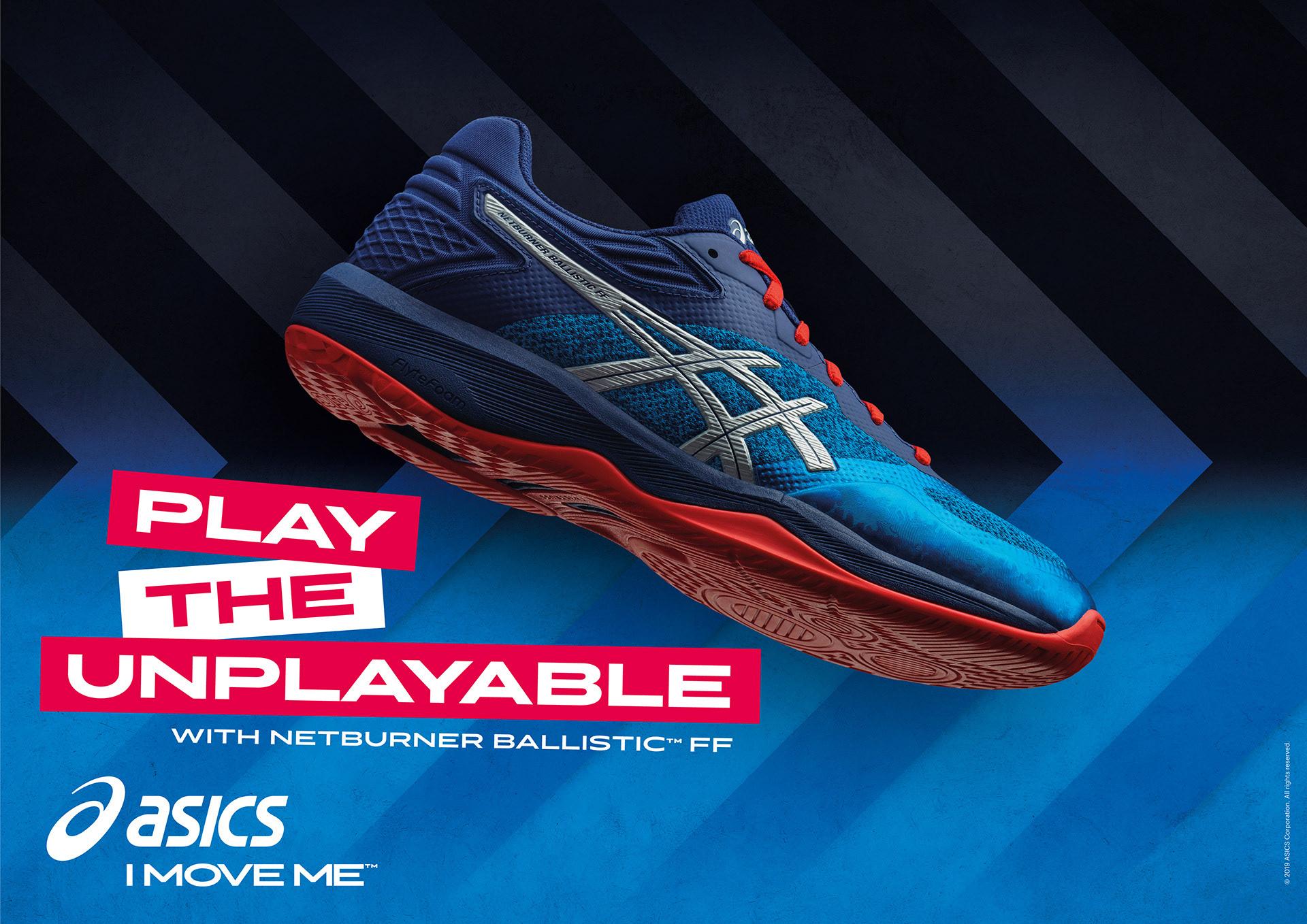 Asics SS19 Handball Campaign on Behance