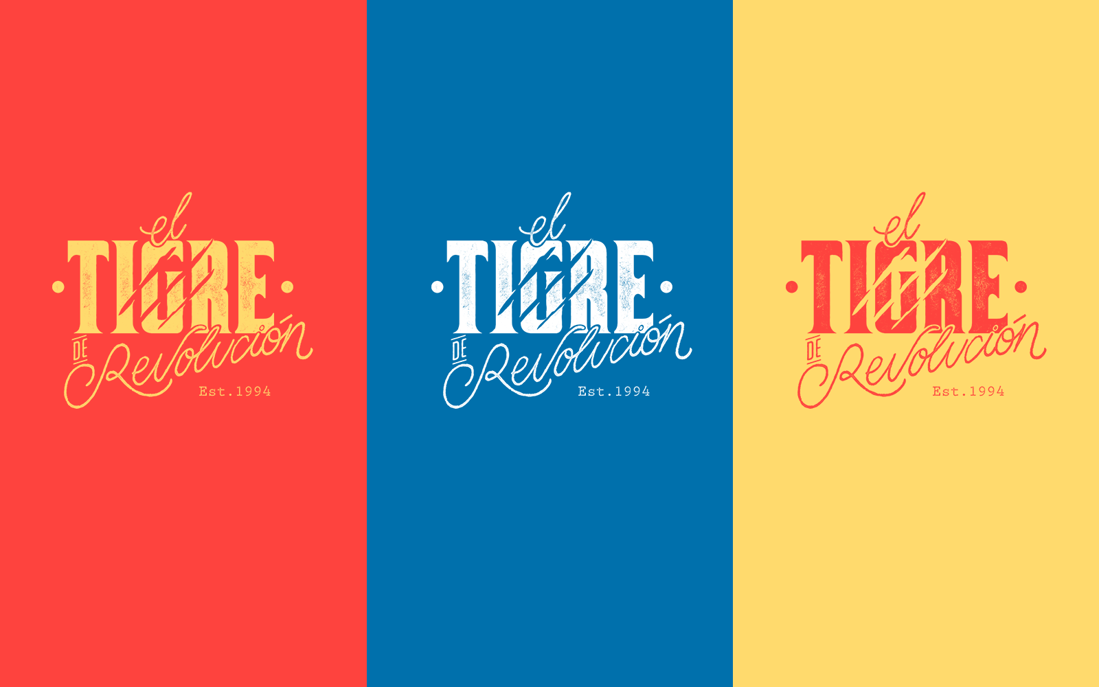 Illustration and Branding: Tigre de Revolución