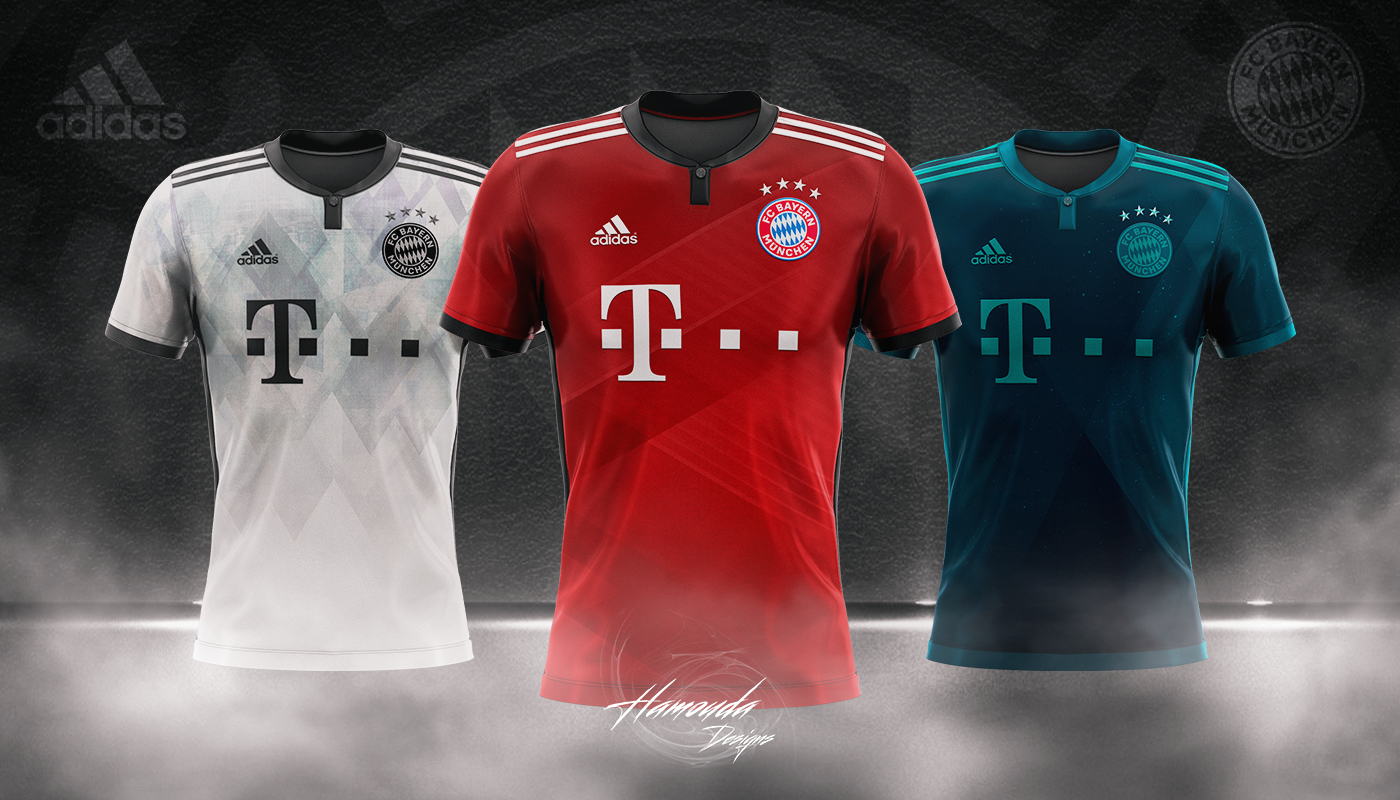 pretty nice e2827 91c64 BAYERN MUNICH - Football Concept Kit 2018/2019 on Behance
