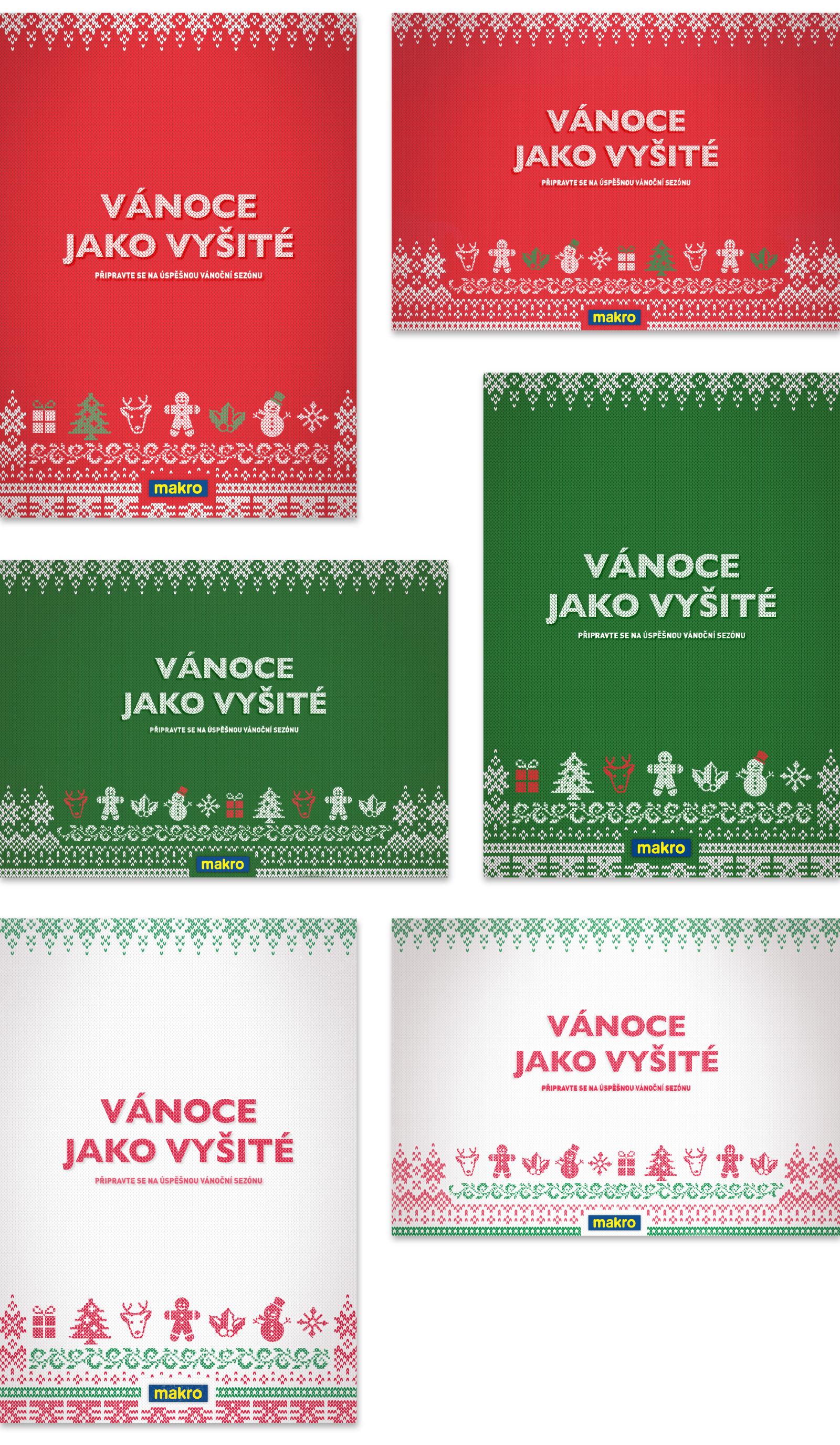 MAKRO Christmas Posters