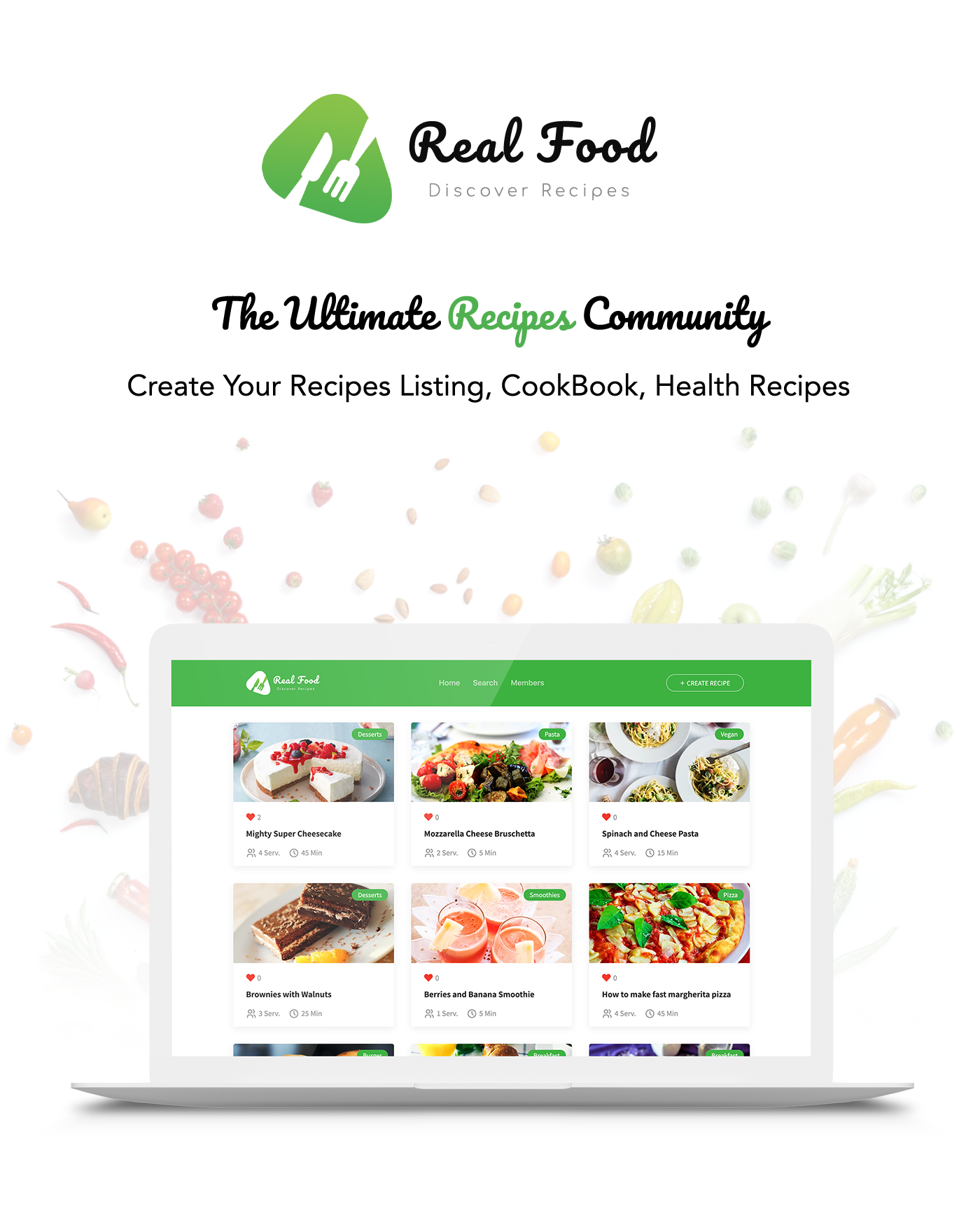 RealFood | The Ultimate PHP Recipes & Community Food - 1