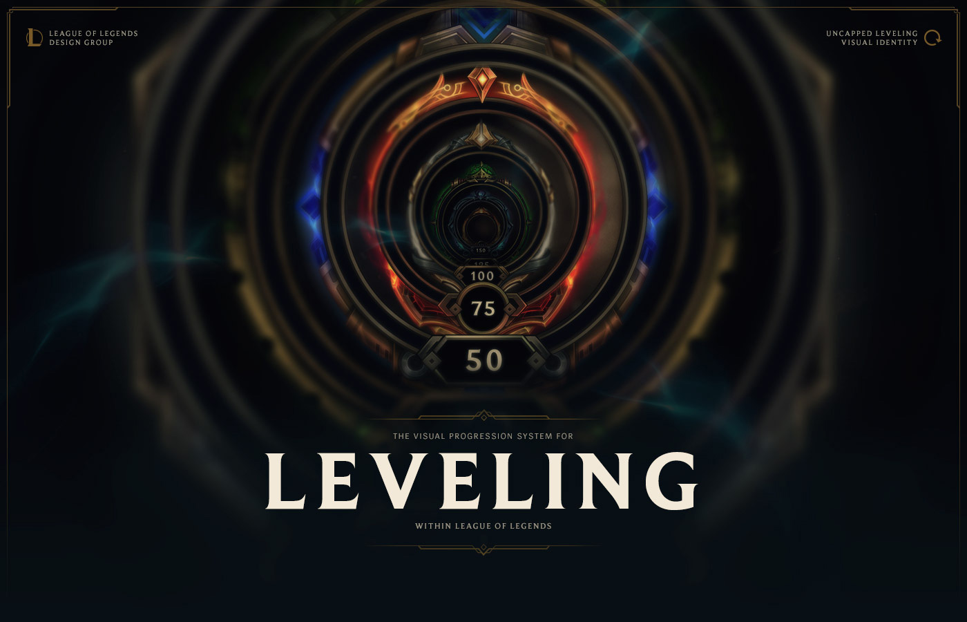 League of Legends // Uncapped Leveling Visual System on Behance