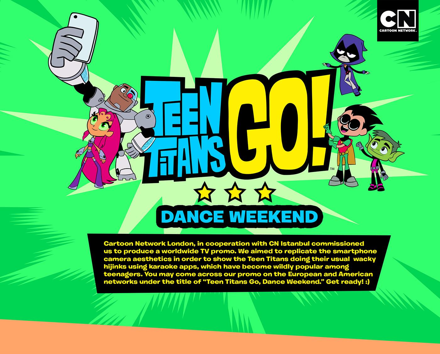 Teen Titans GO! Arcade on Behance