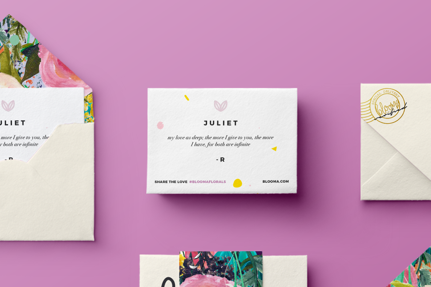 Blooma Floral Studio on Behance