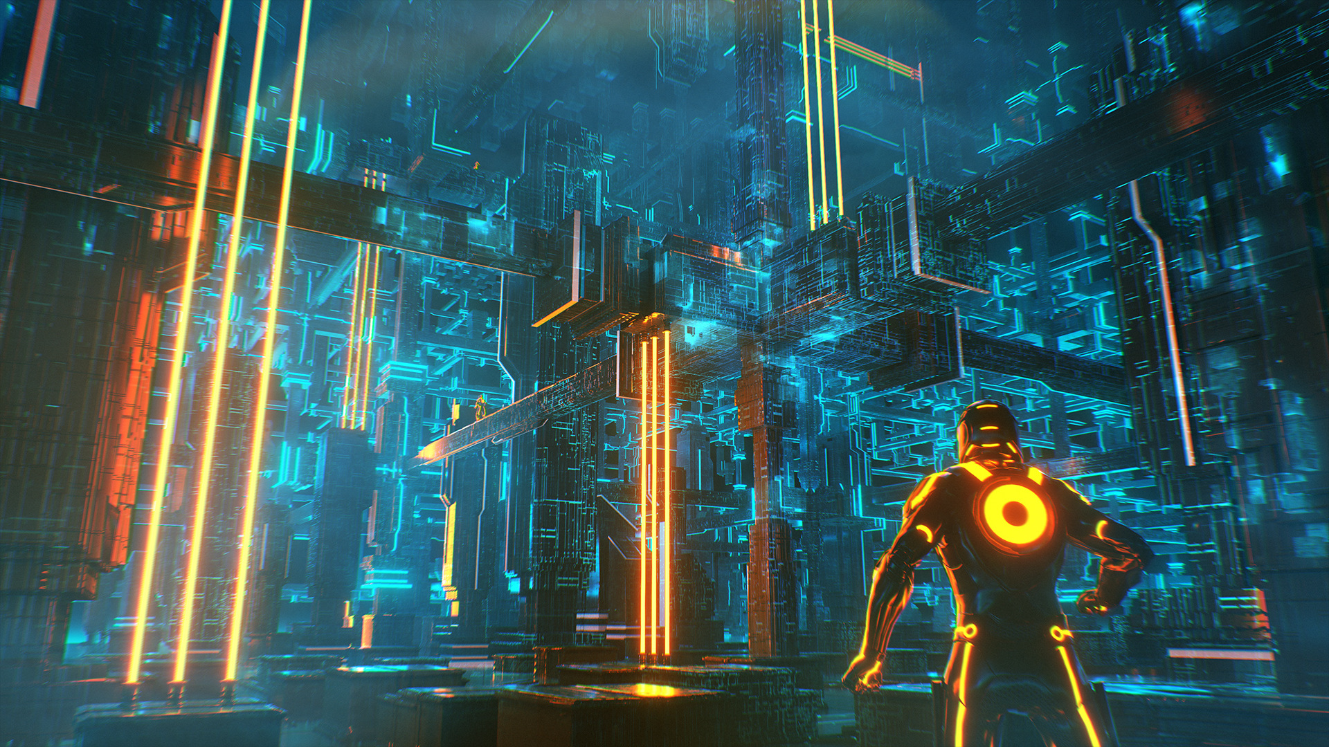 digital art amp game design tron concepts