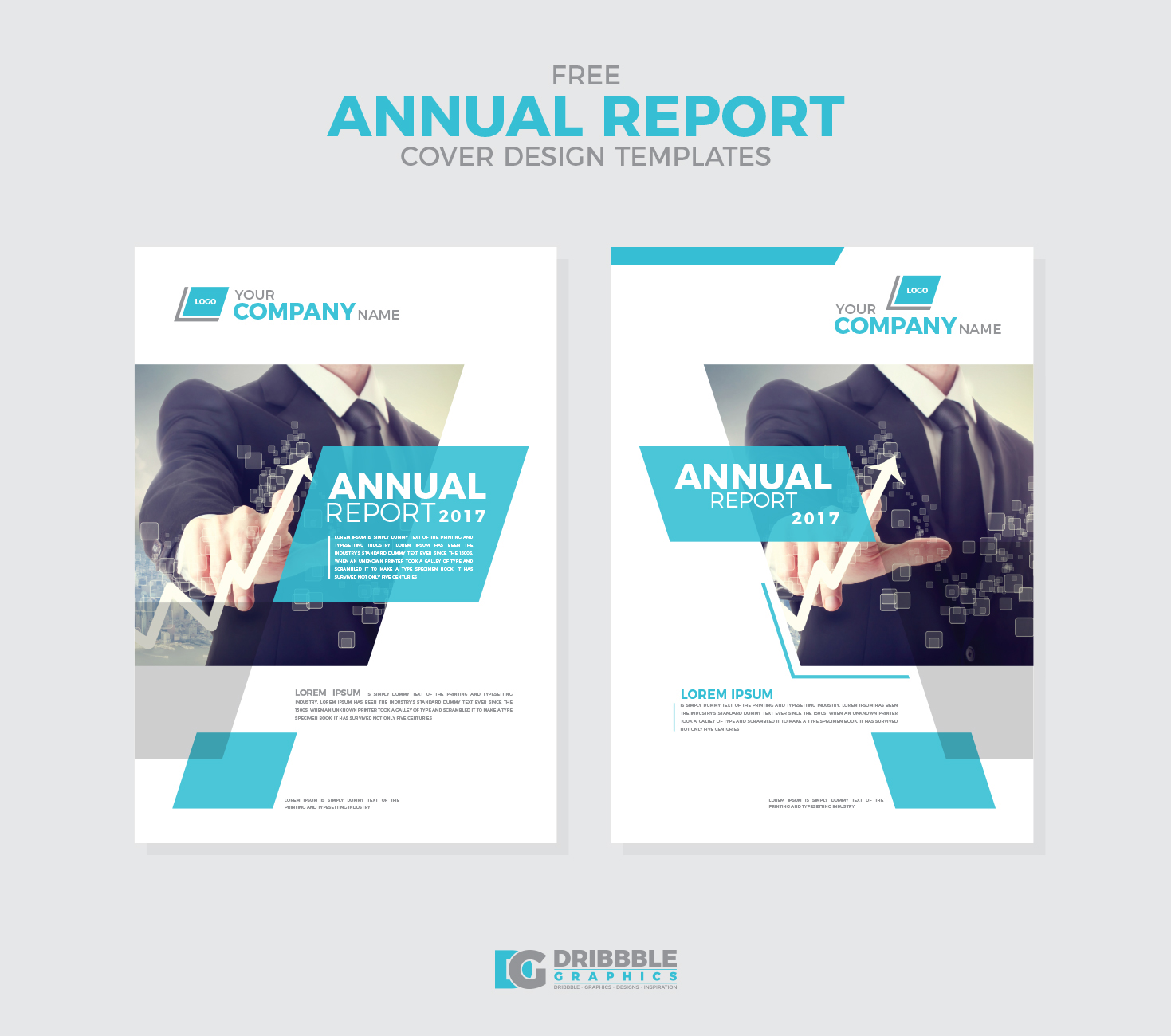 free annual report cover design templates on behance