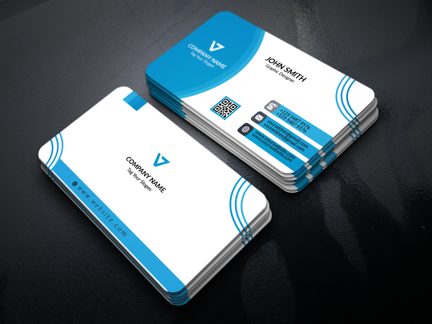 creative business cards on Behance