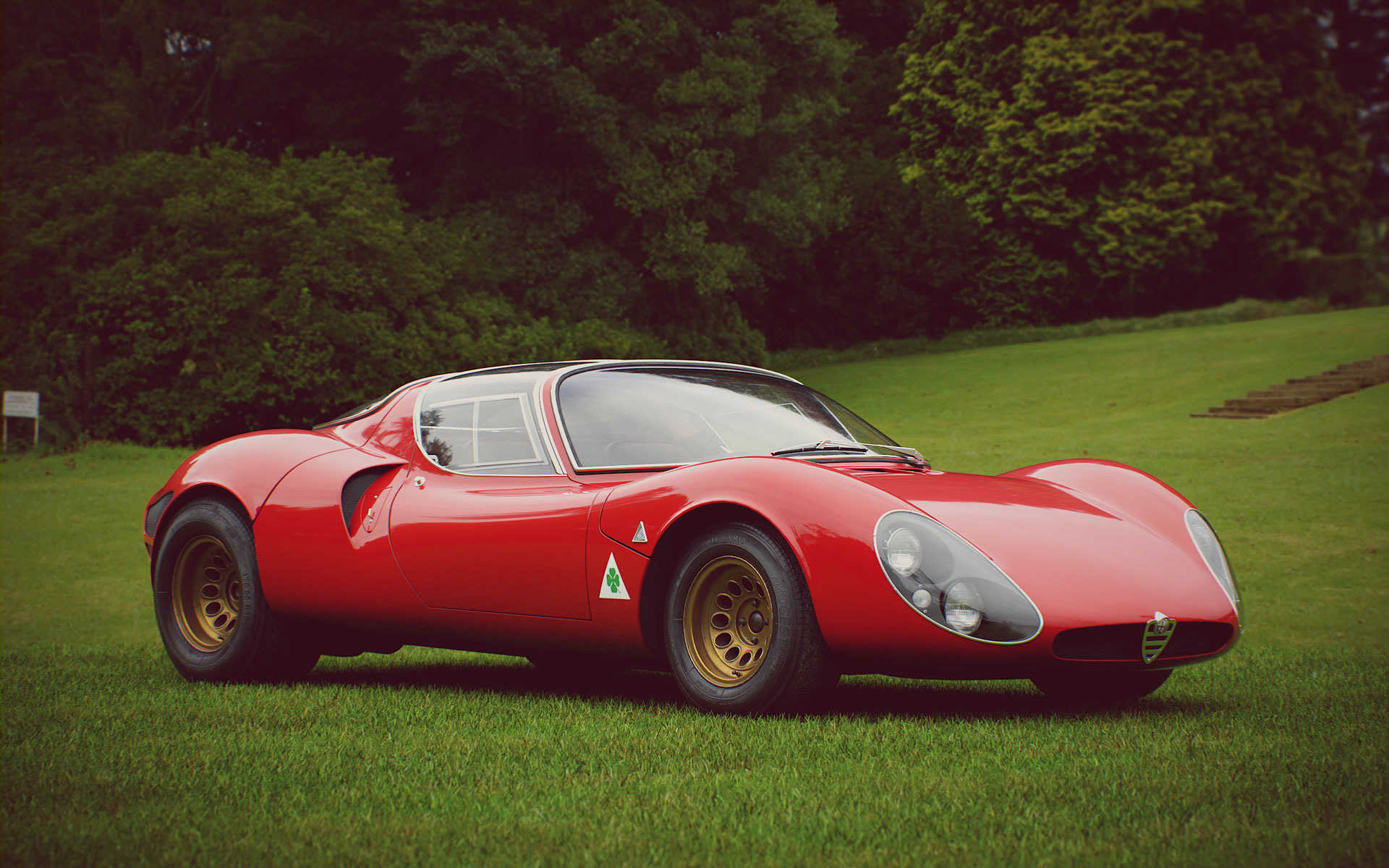 67 Alfa 33 Stradale Free Model On Behance