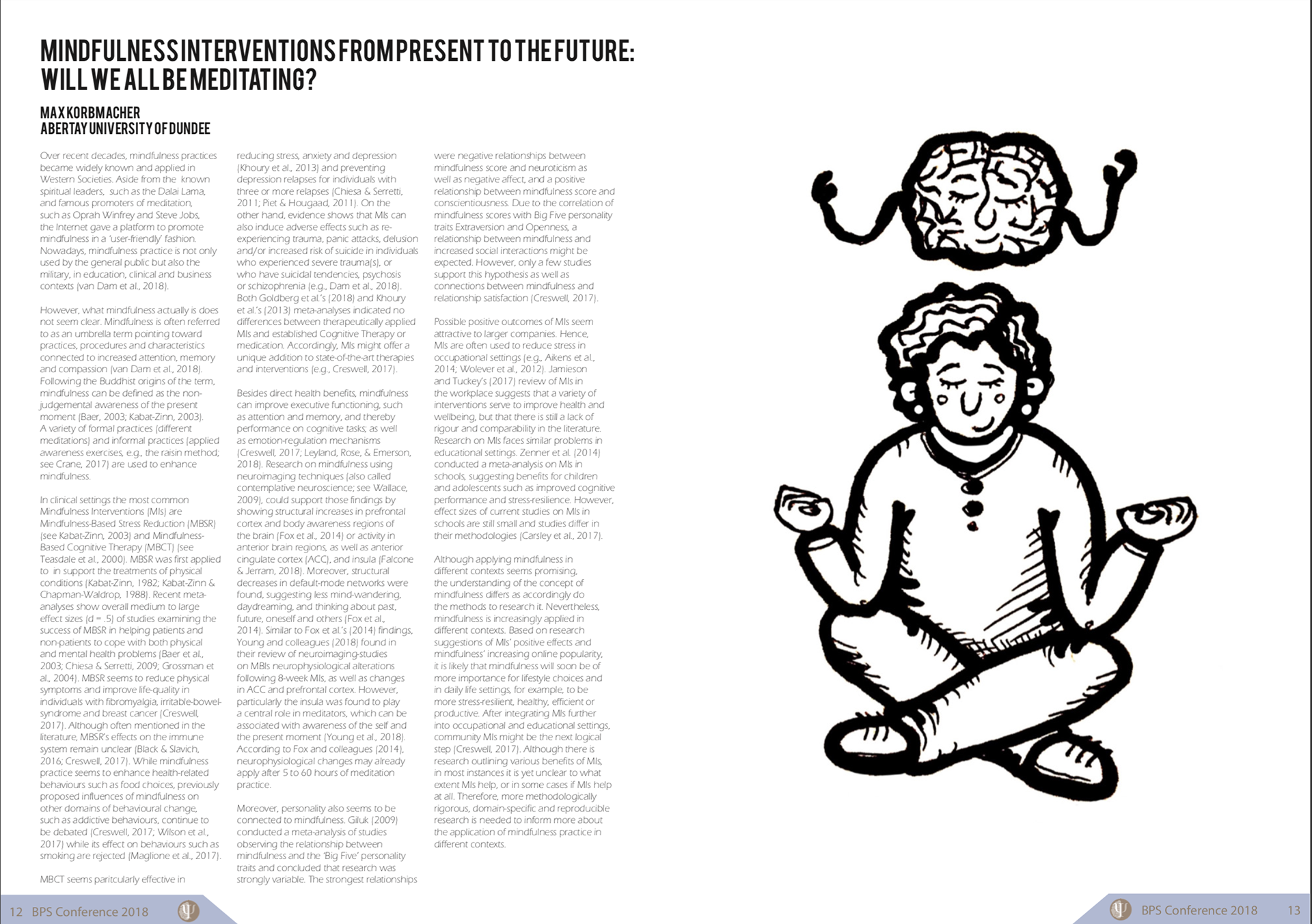 Glasgow University Psychology Society Careers Magazine on