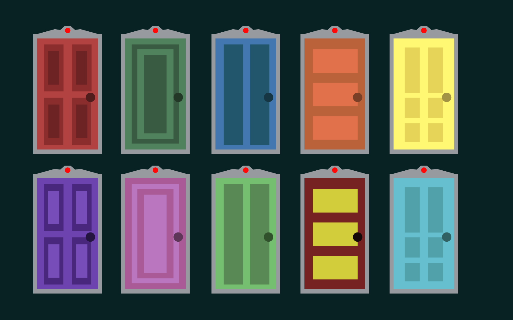 Monsters Inc Moving Doors Animation On Behance