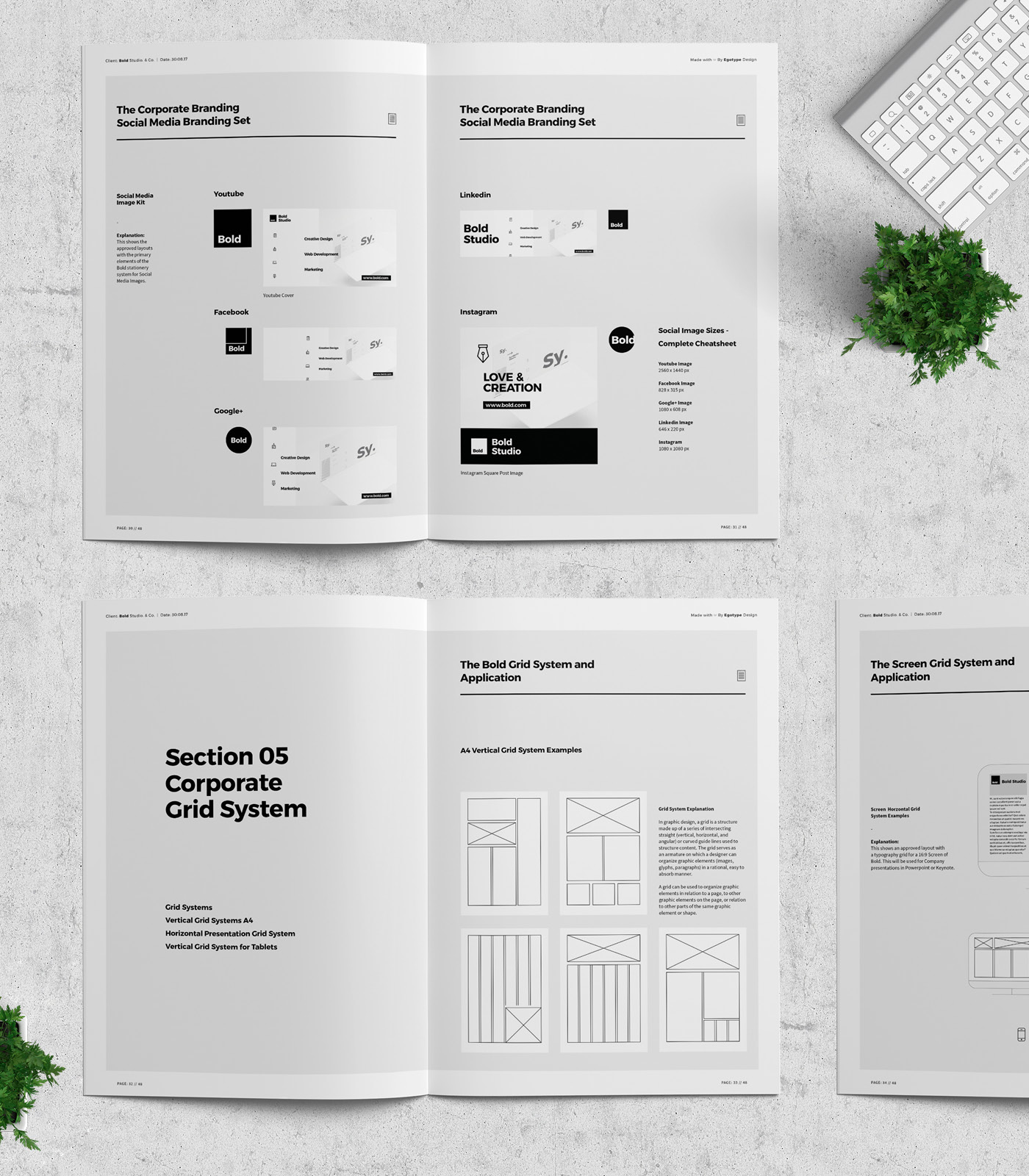 Bold Brand Manual & Guidelines on Behance