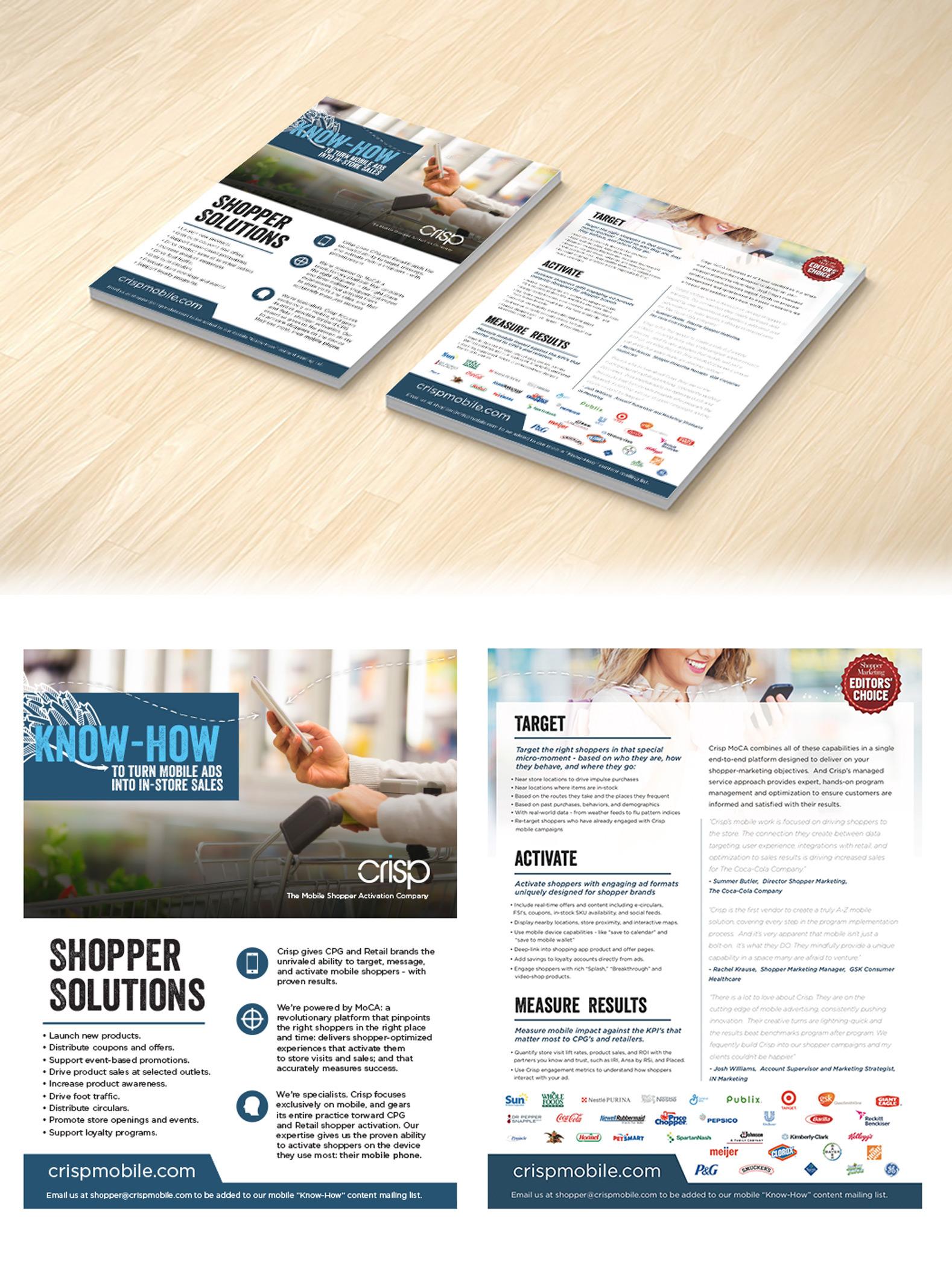 Crisp Mobile - Expo Flyer on Behance