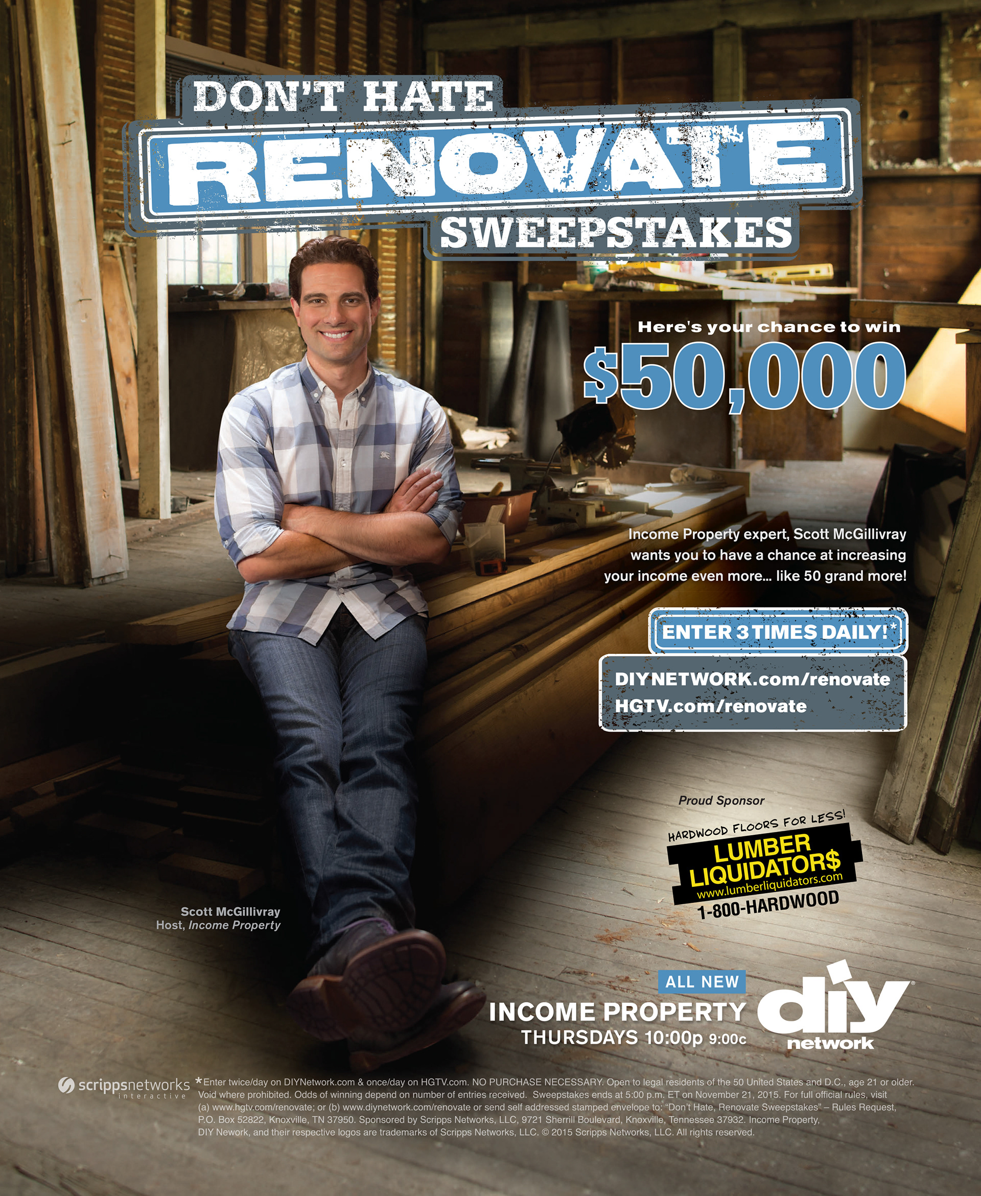 Don T Hate Renovate Sweeps Print Ad On Behance
